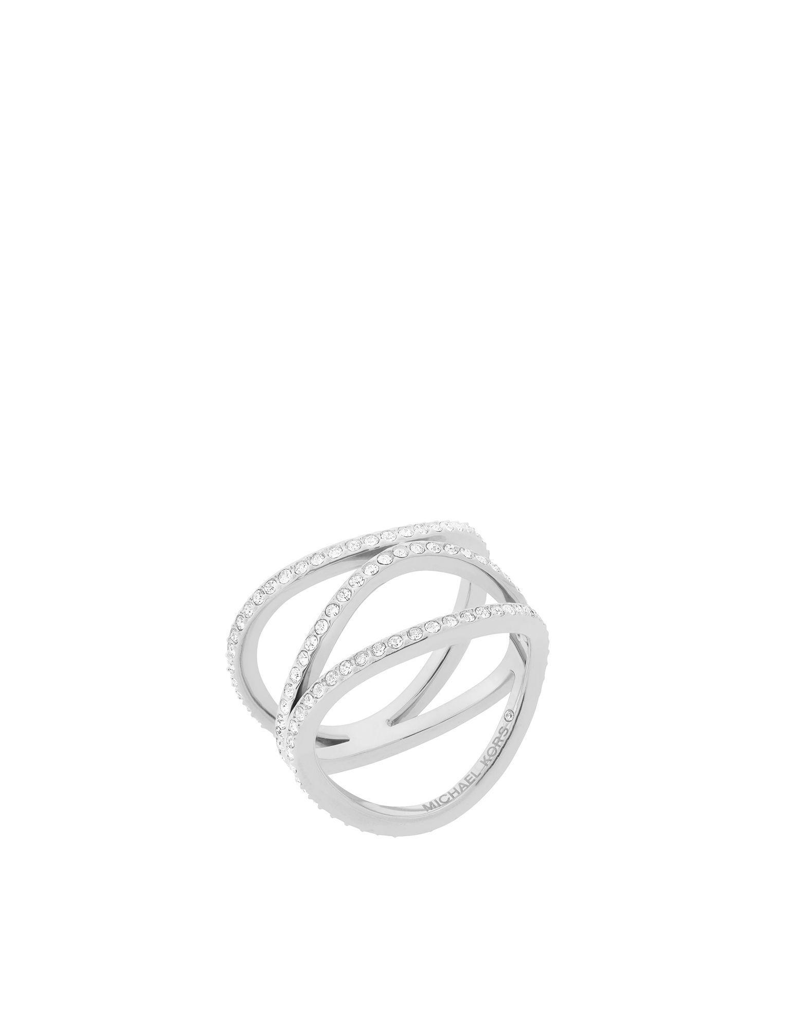 Michael Kors Mkj6639040003 Ladies Ring in Silver (Metallic)