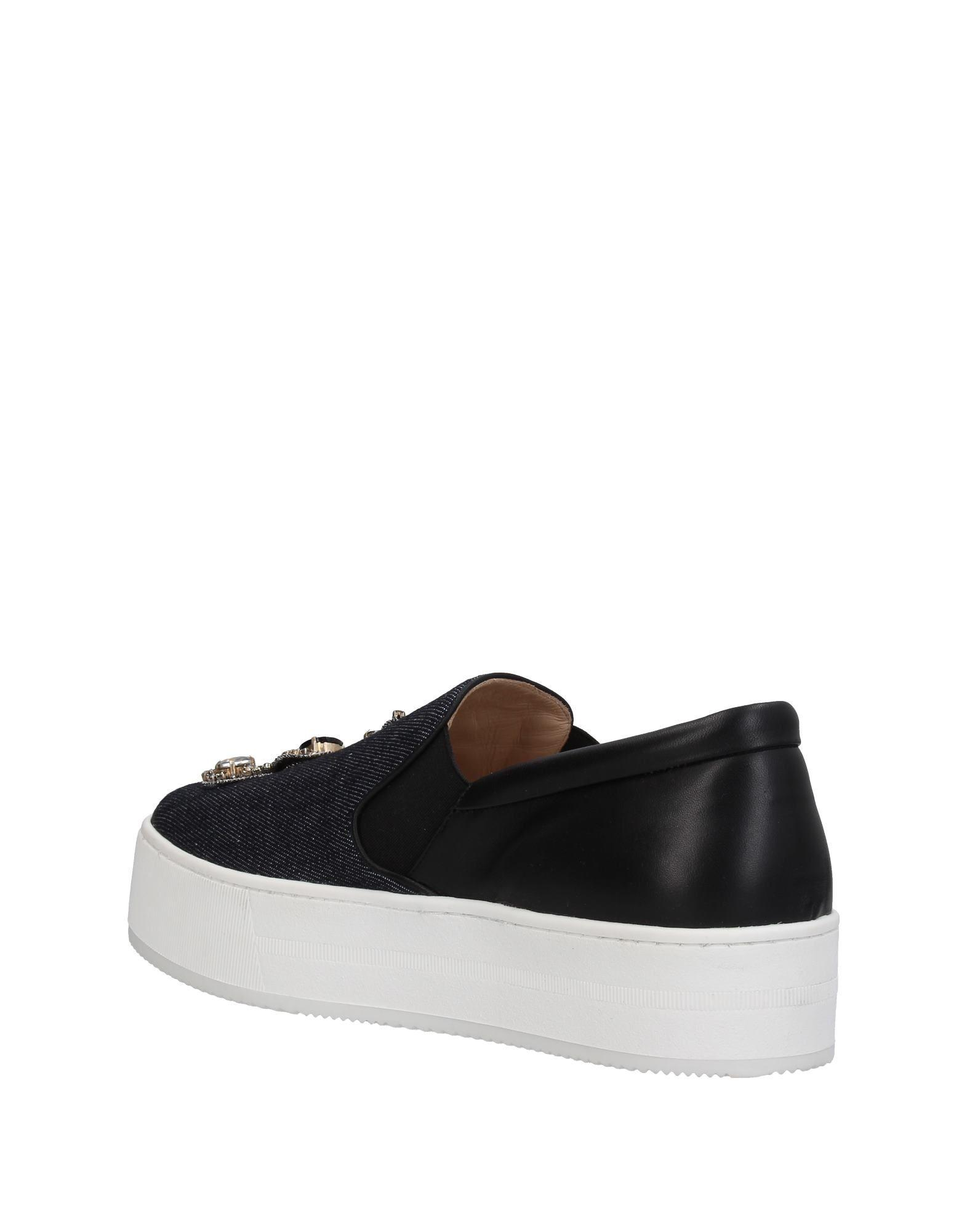 N°21 Leather Low-tops & Sneakers in Blue