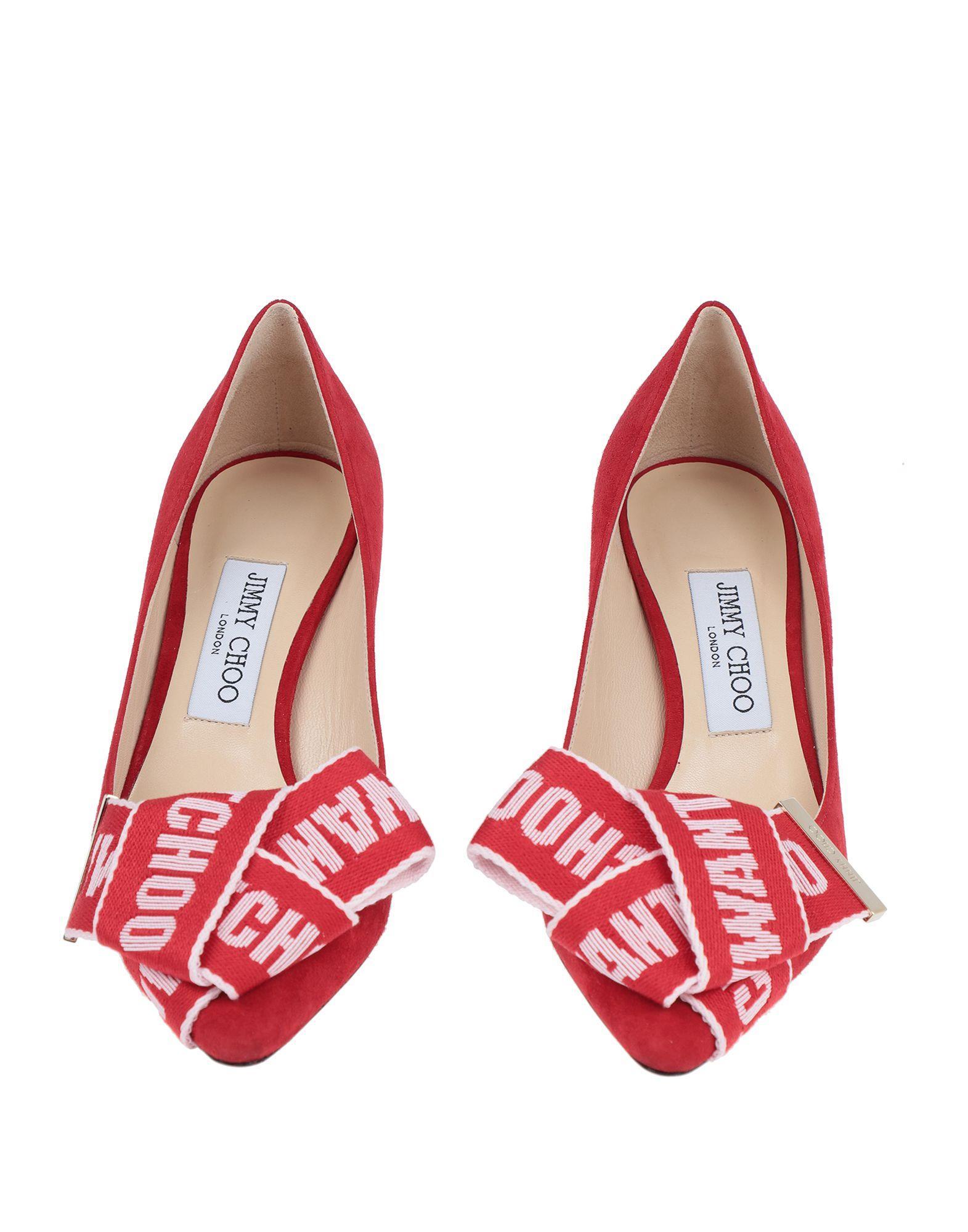 Zapatos de salón Jimmy Choo de color Rojo