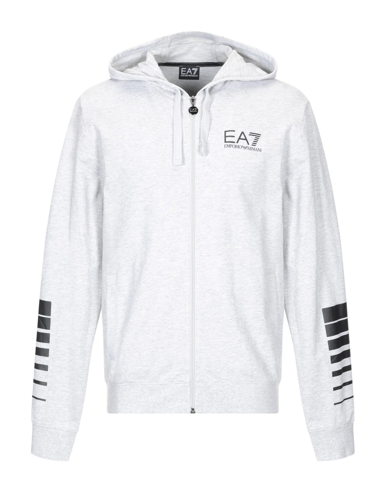 ca12f1b722b Lyst - EA7 Sweatshirt in Gray for Men