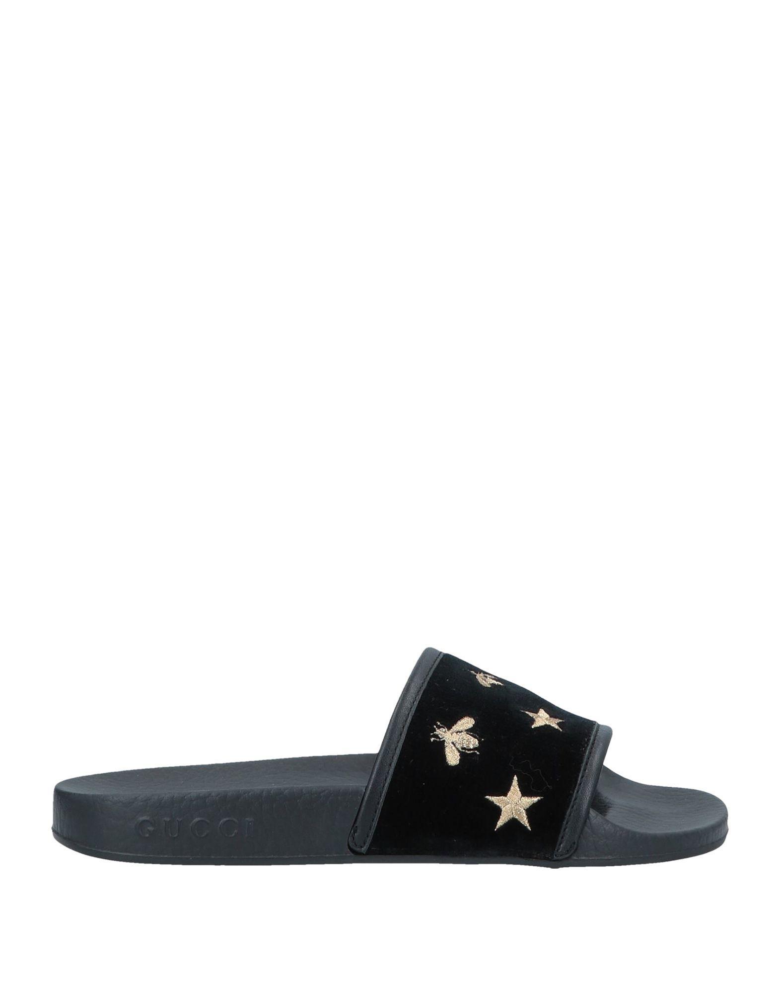 898a451910873e Lyst - Gucci Sandals in Black - Save 34%