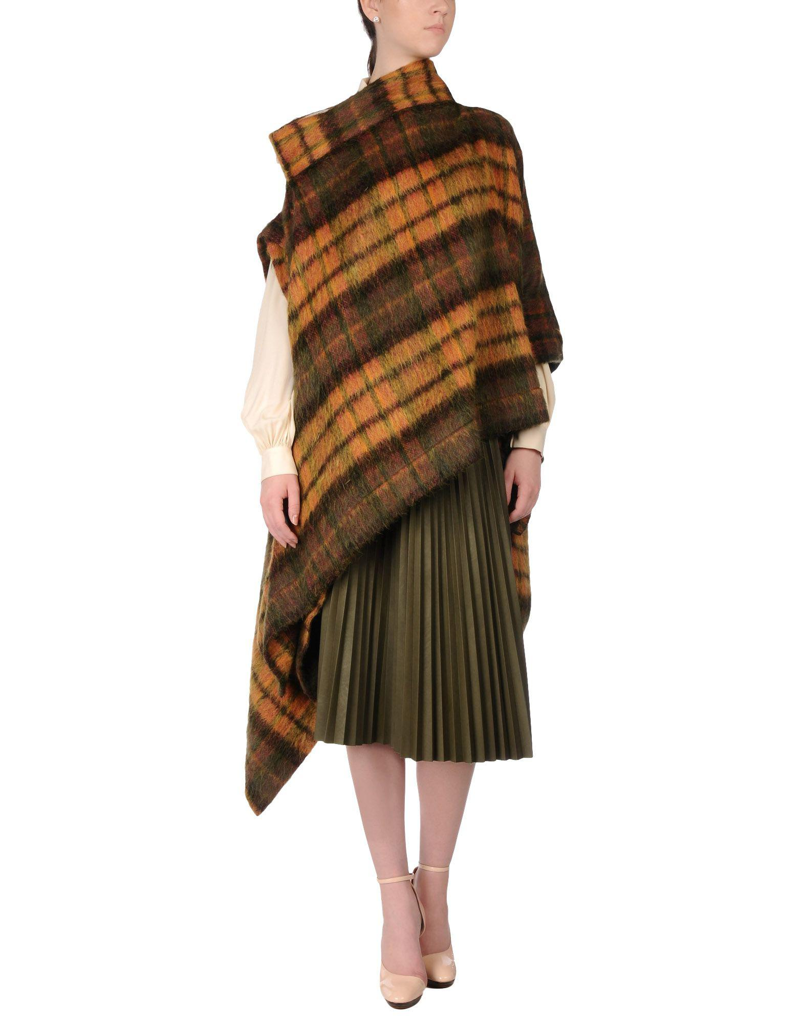 lyst vivienne westwood anglomania capes ponchos in green. Black Bedroom Furniture Sets. Home Design Ideas
