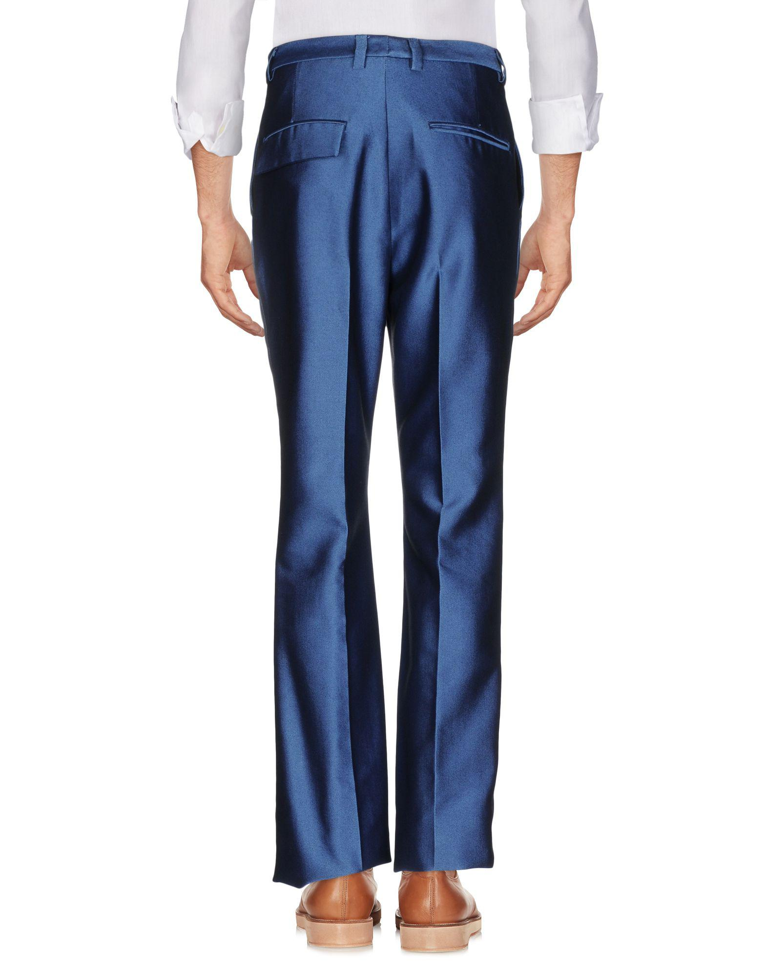 MSGM Cotton Casual Trouser in Pastel Blue (Blue) for Men