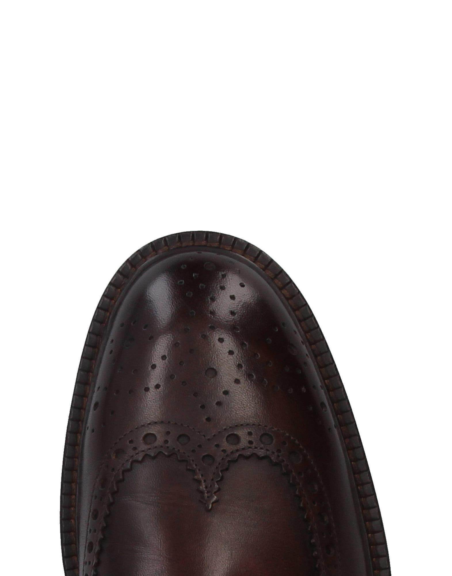 Campanile Leather Lace-up Shoe in Dark Brown (Brown) for Men