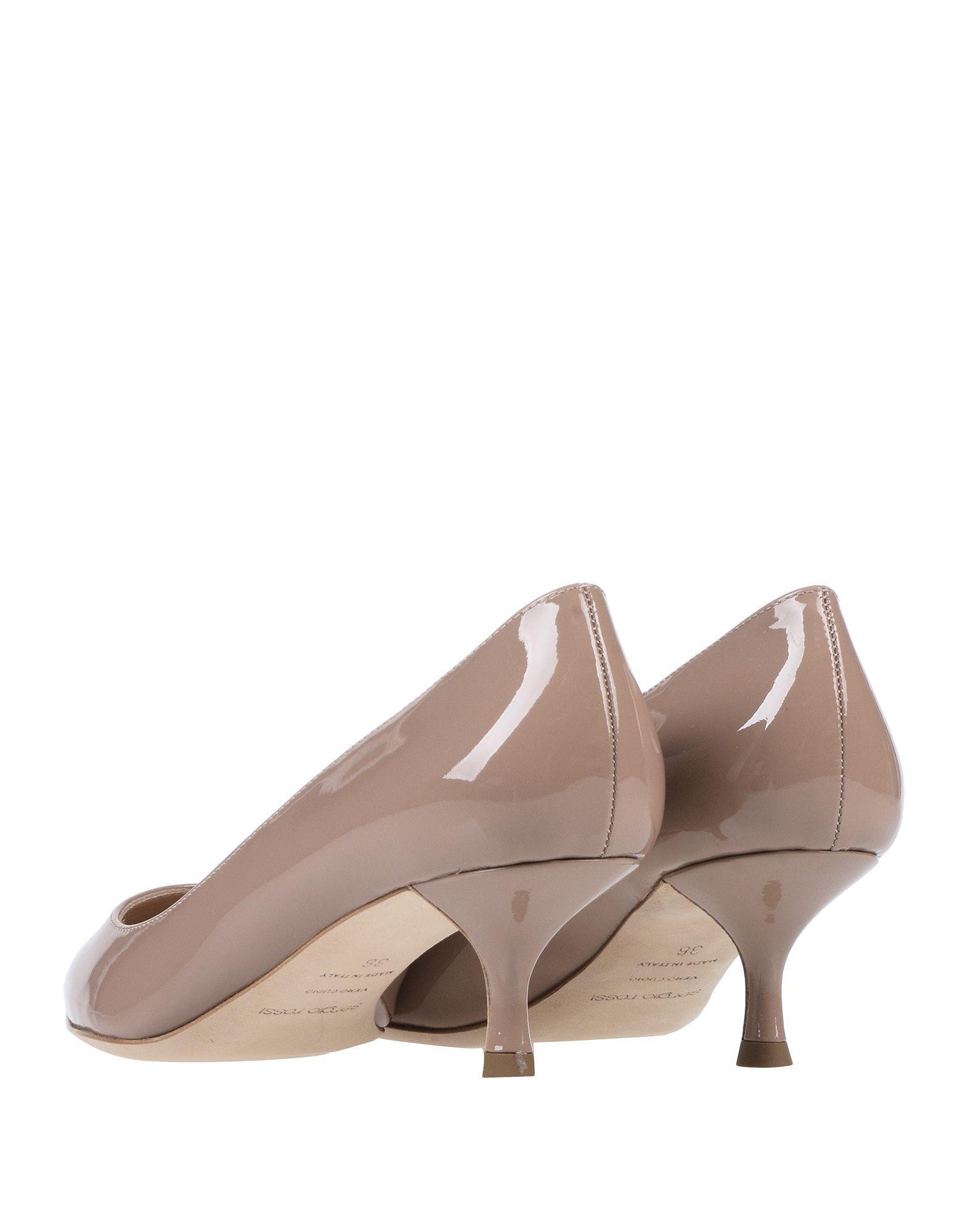 Zapatos de salón Sergio Rossi de Cuero de color Marrón