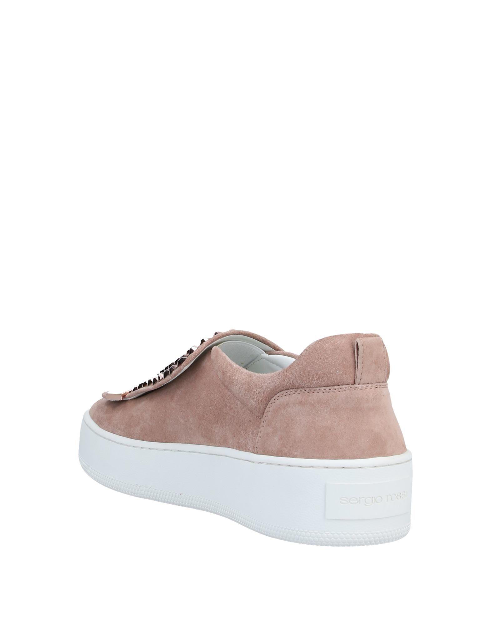 Sneakers & Deportivas Sergio Rossi de Ante de color Rosa