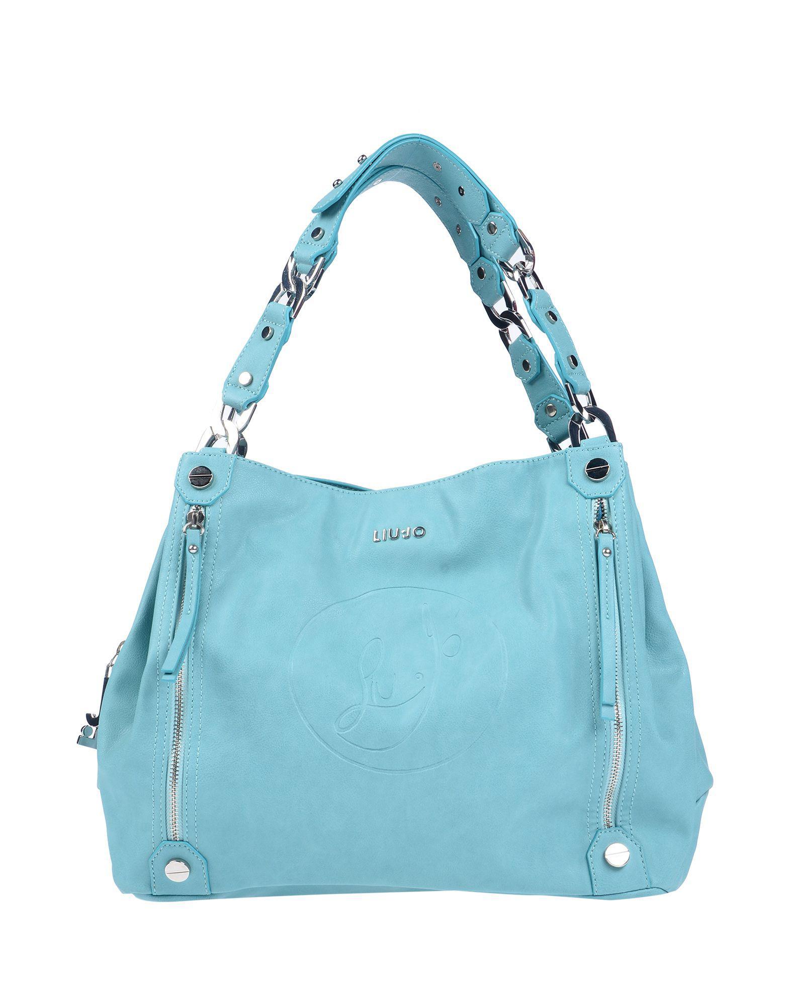Lyst - Liu Jo Handbag in Blue 4fc341f25c6