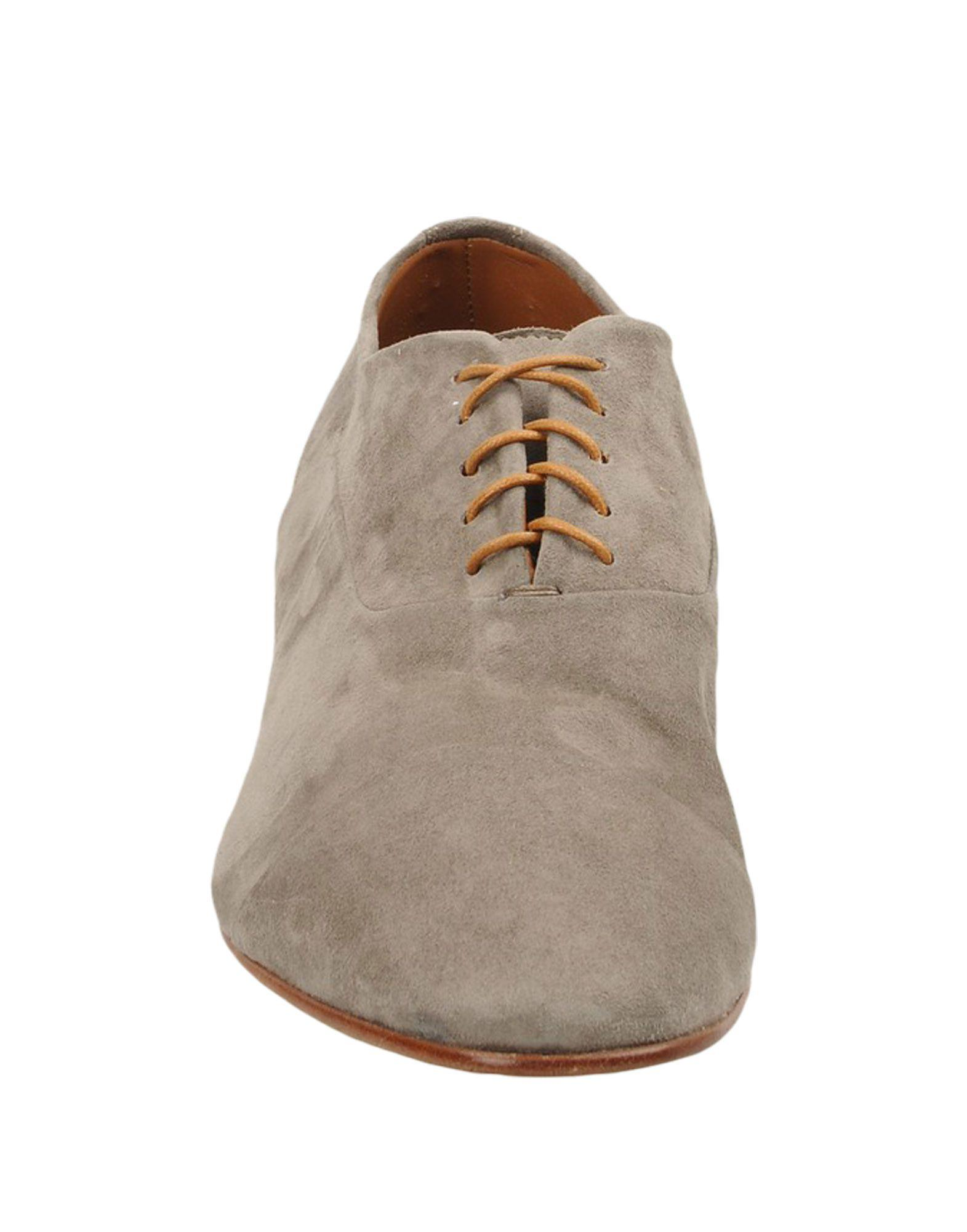 8 Suede Lace-up Shoes in Grey (Grey) for Men