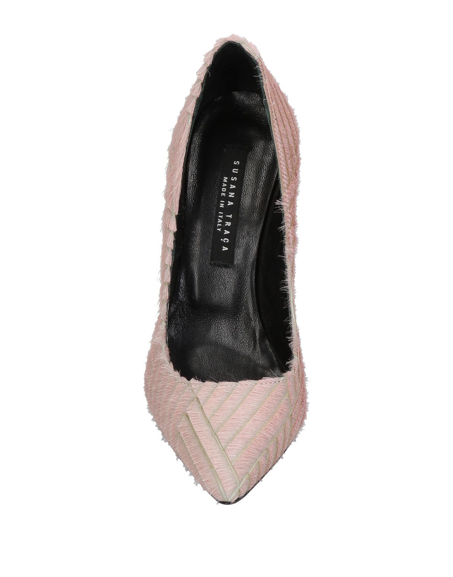 Zapatos de salón Susana Traça de Cuero de color Rosa
