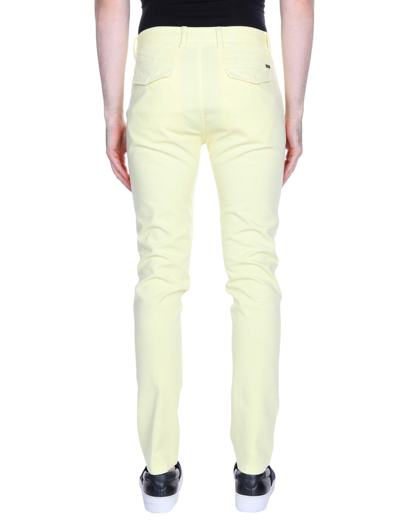 Marciano Cotton Casual Pants in Yellow for Men