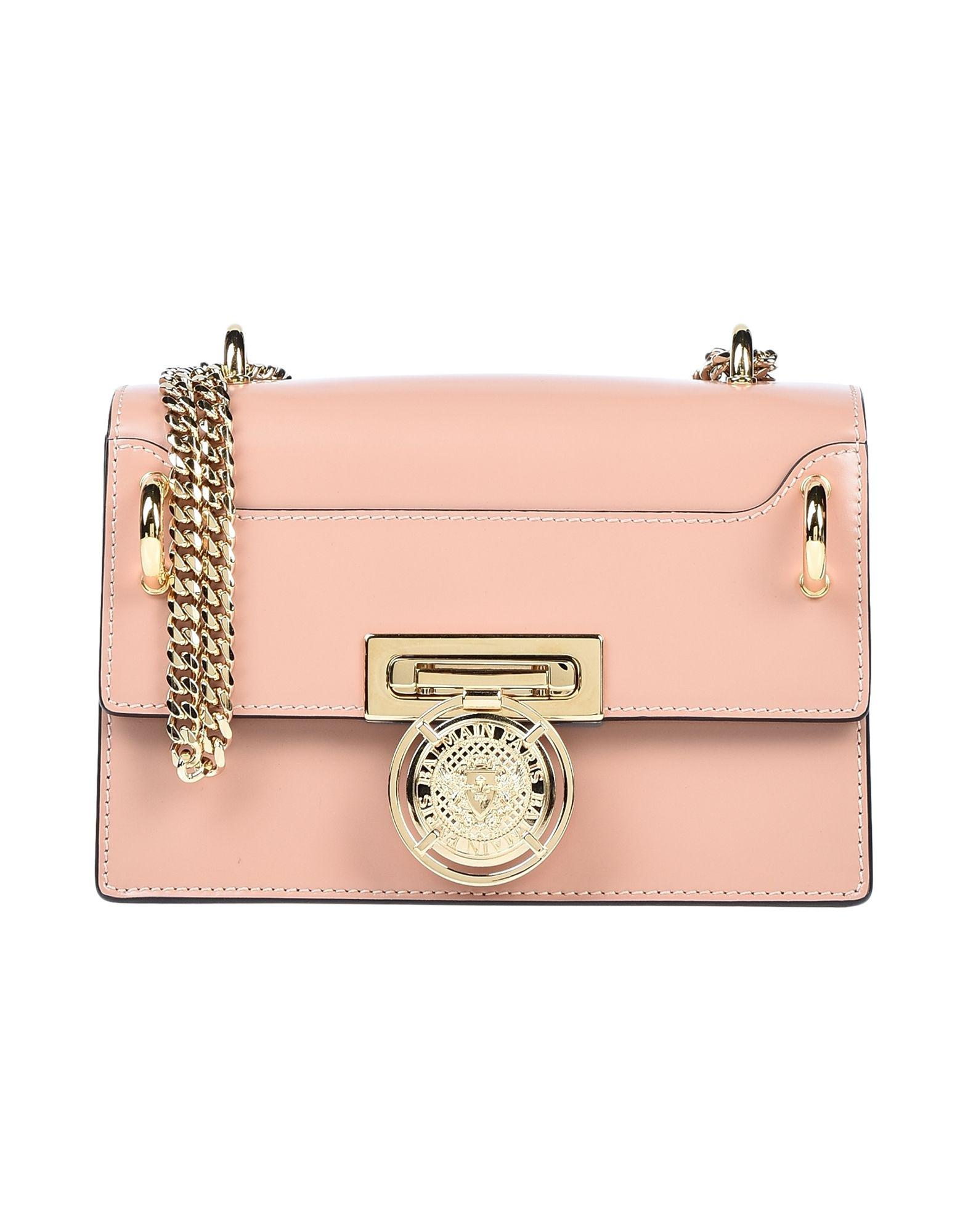 f2e26a428d01 Lyst - Balmain Shoulder Bag in Pink