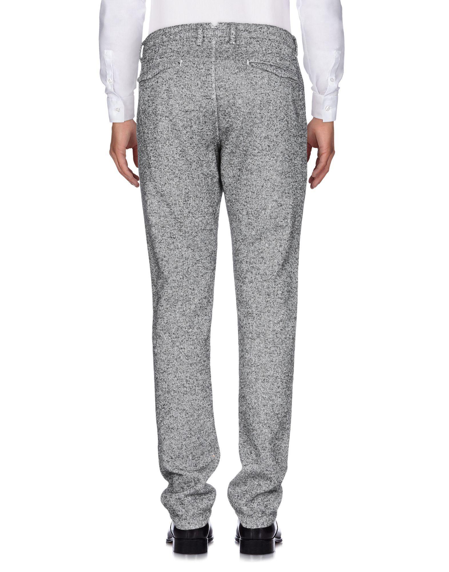 Jeordie's Tweed Casual Pants in Black for Men