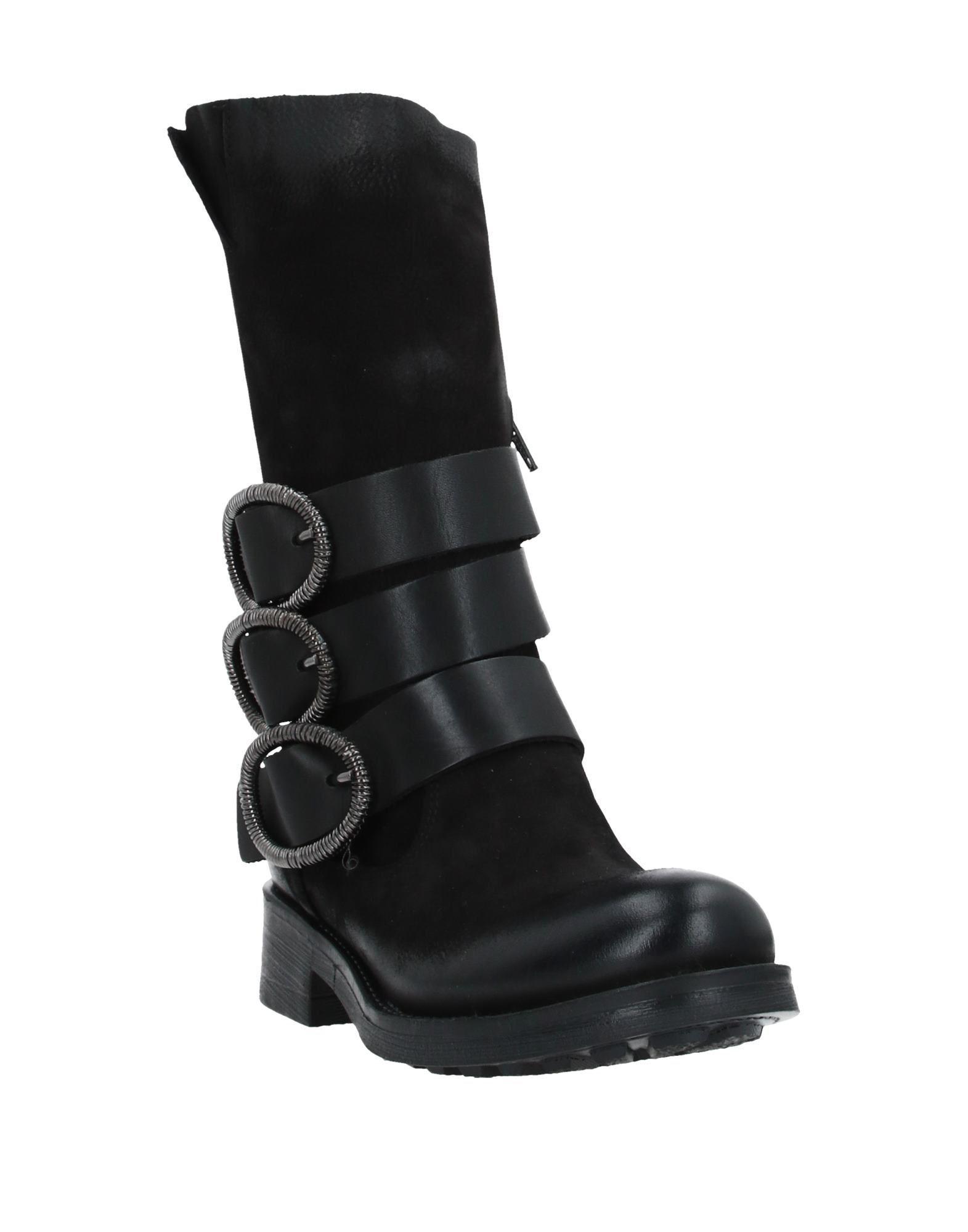 Botines de caña alta Ovye' By Cristina Lucchi de Cuero de color Negro