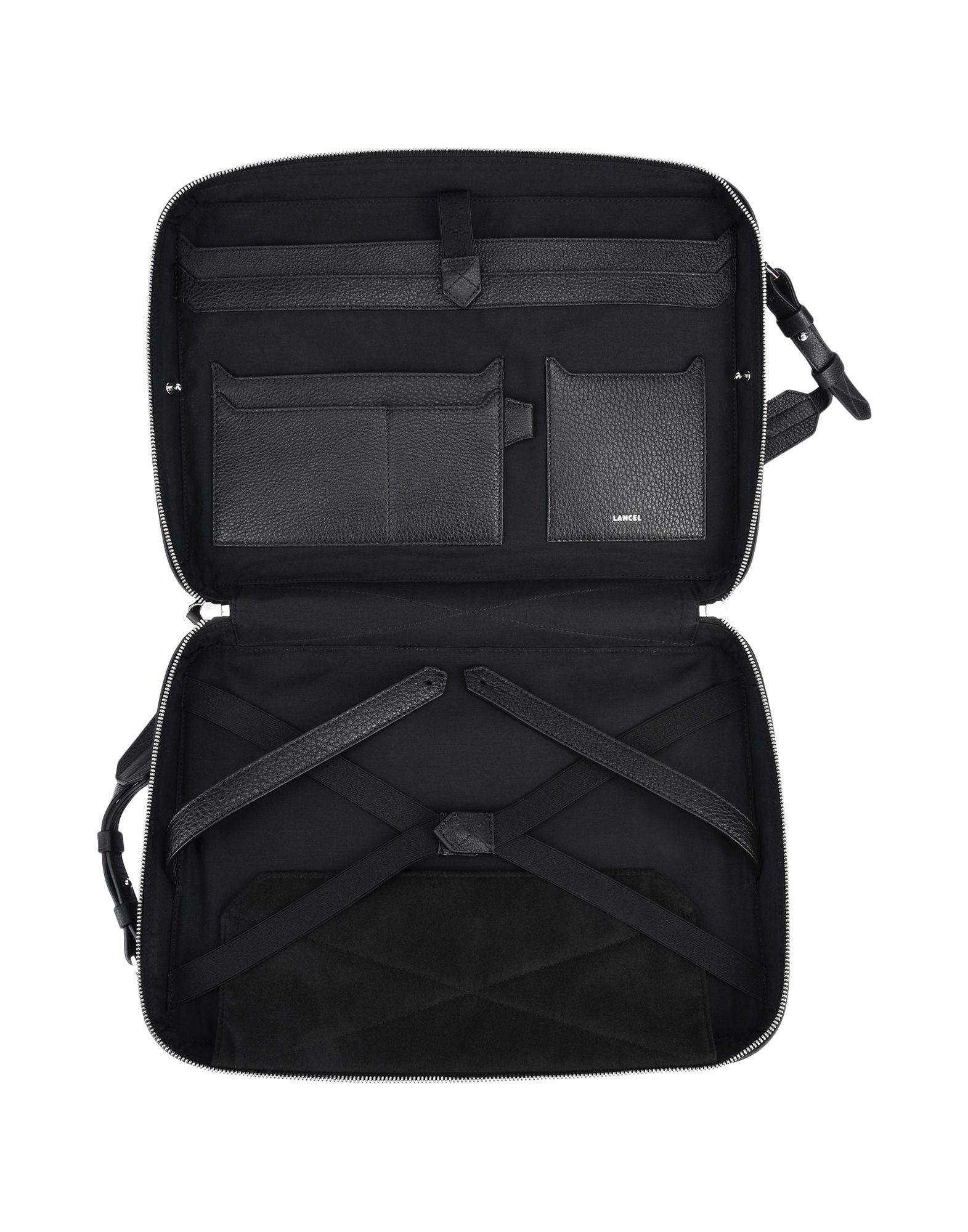 a2424a41022e Lyst - Lancel Work Bags in Black for Men