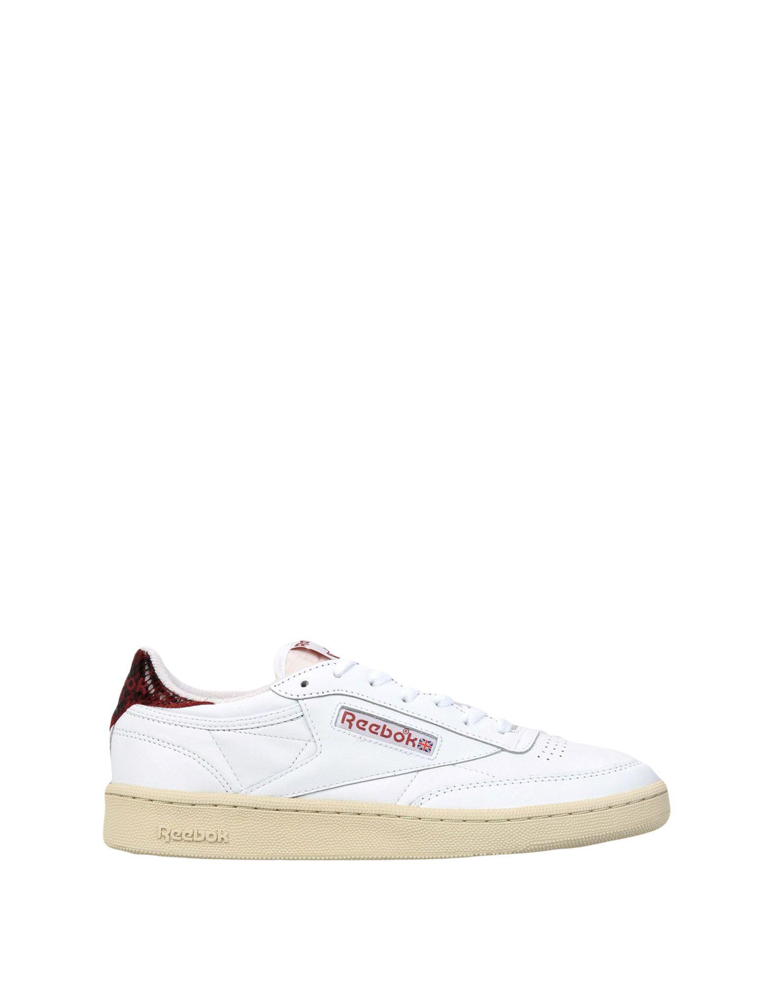 Reebok Leather Low-tops & Sneakers in White