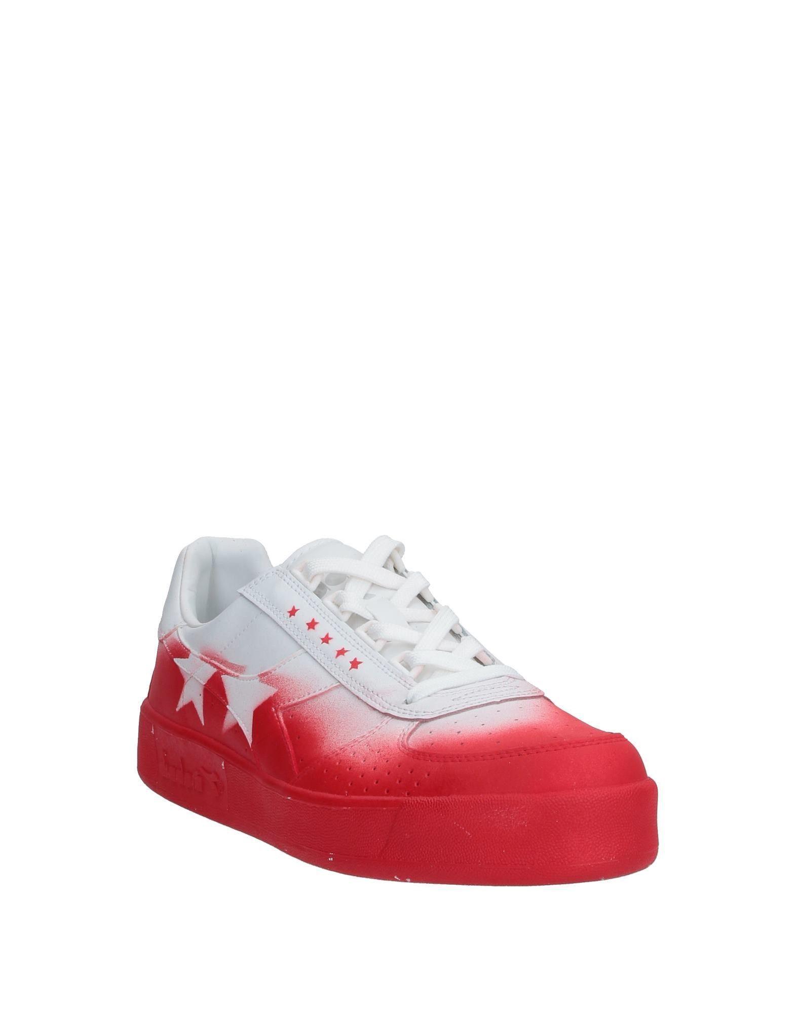 Sneakers & Deportivas DIADORA by THE EDITOR de Cuero de color Rojo