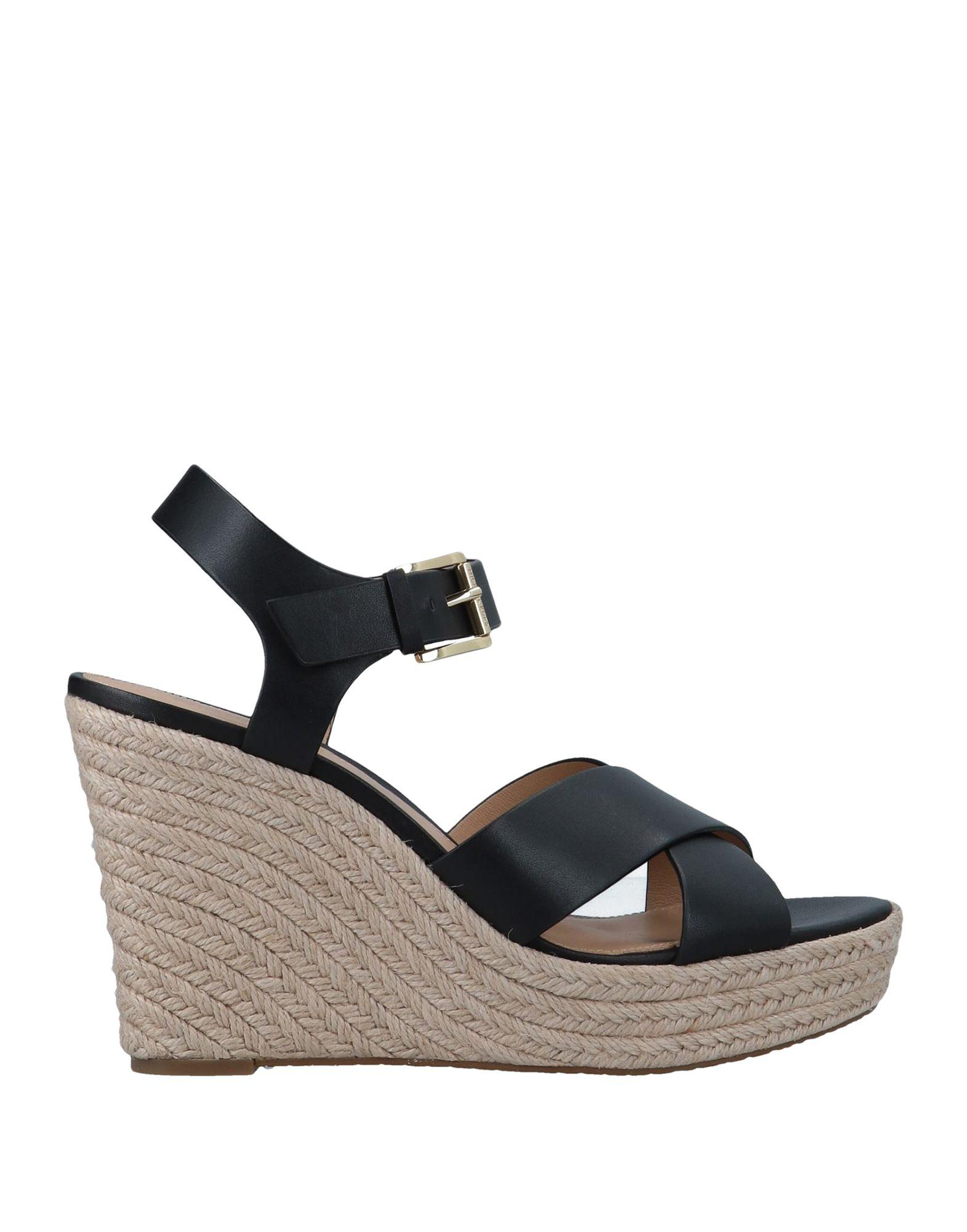 d130ead2976d Lyst - Michael Michael Kors Sandals in Black - Save 11.702127659574472%