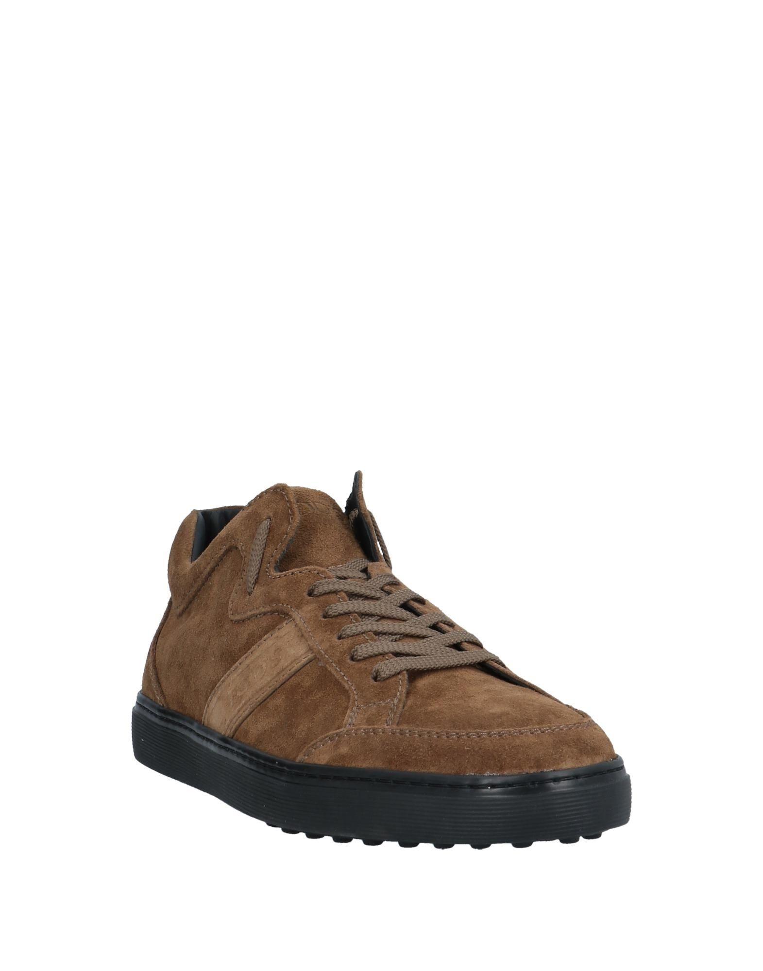 Sneakers & Deportivas Tod's de Cuero de color Marrón para hombre