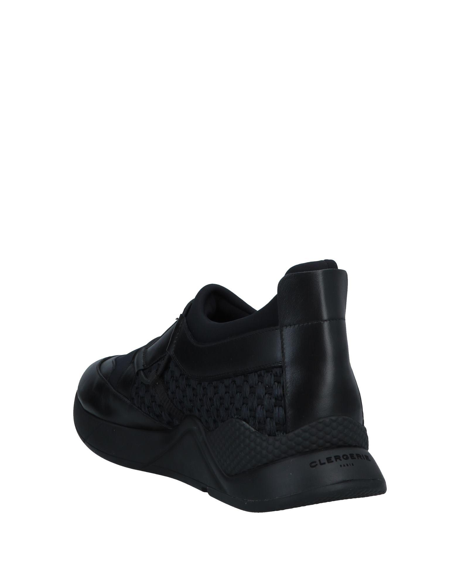 Sneakers & Deportivas Clergerie de Cuero de color Negro para hombre