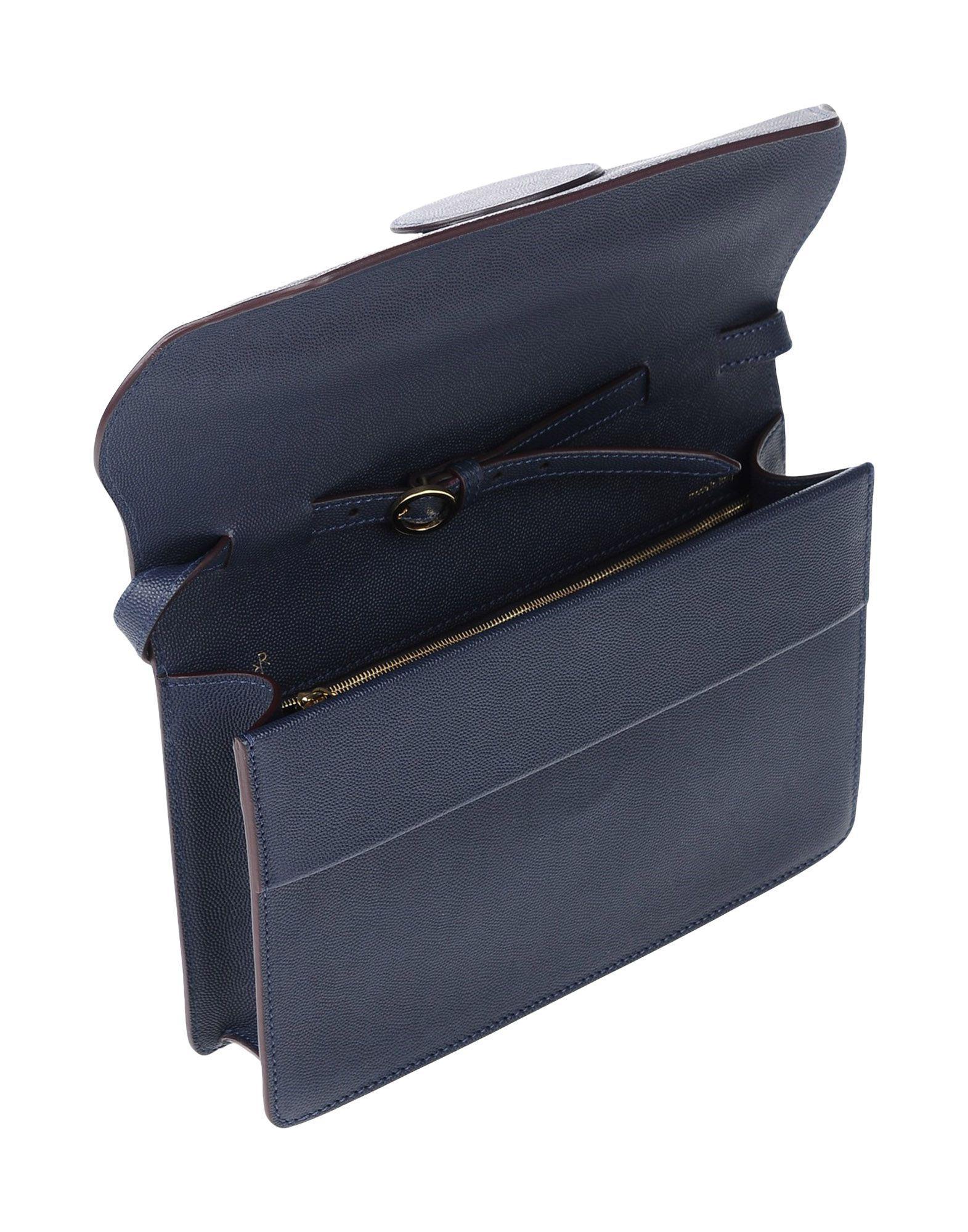 ROKSANDA Leather Cross-body Bag in Dark Blue (Blue)