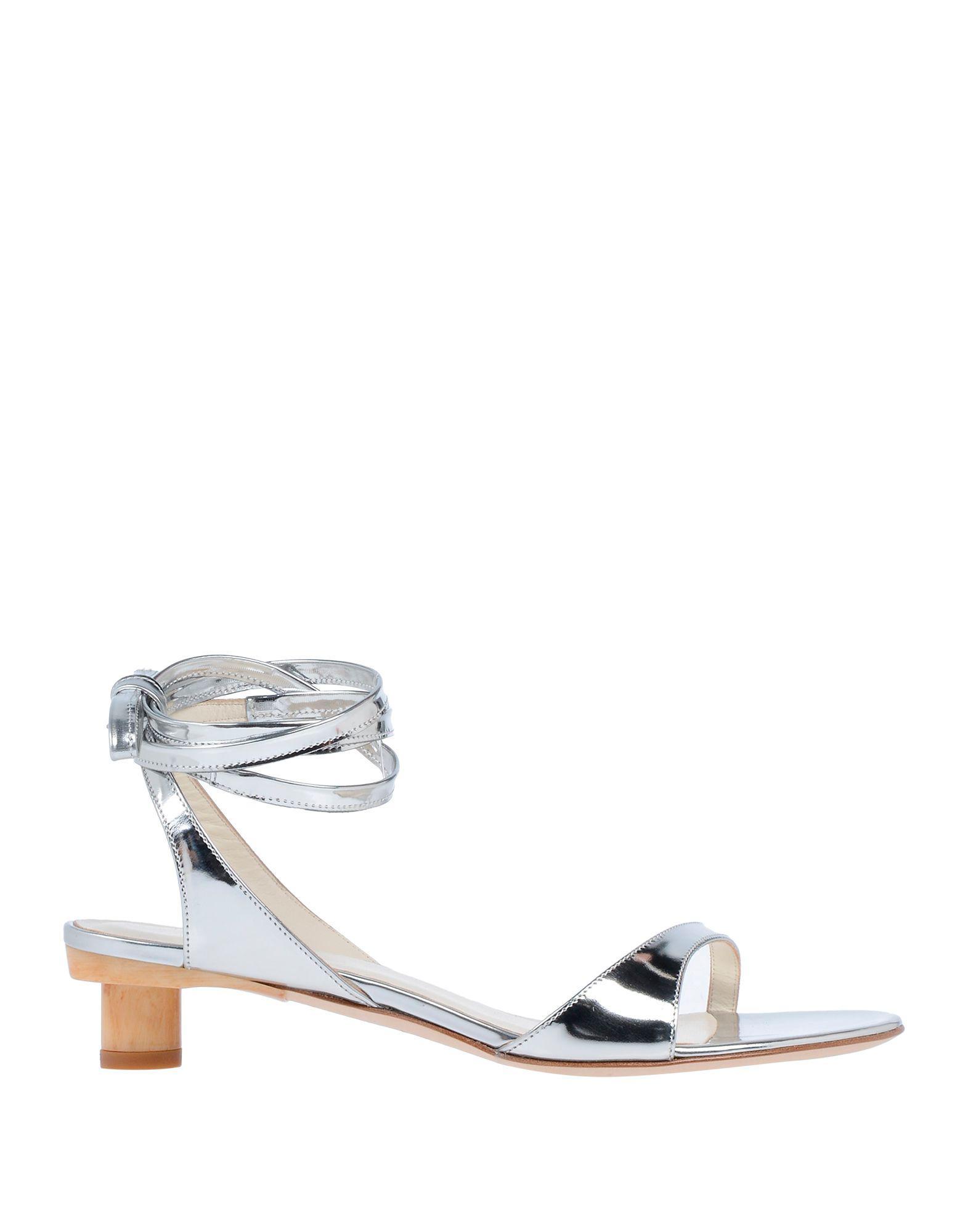 f93caf482 Lyst - Tibi Sandals in Metallic