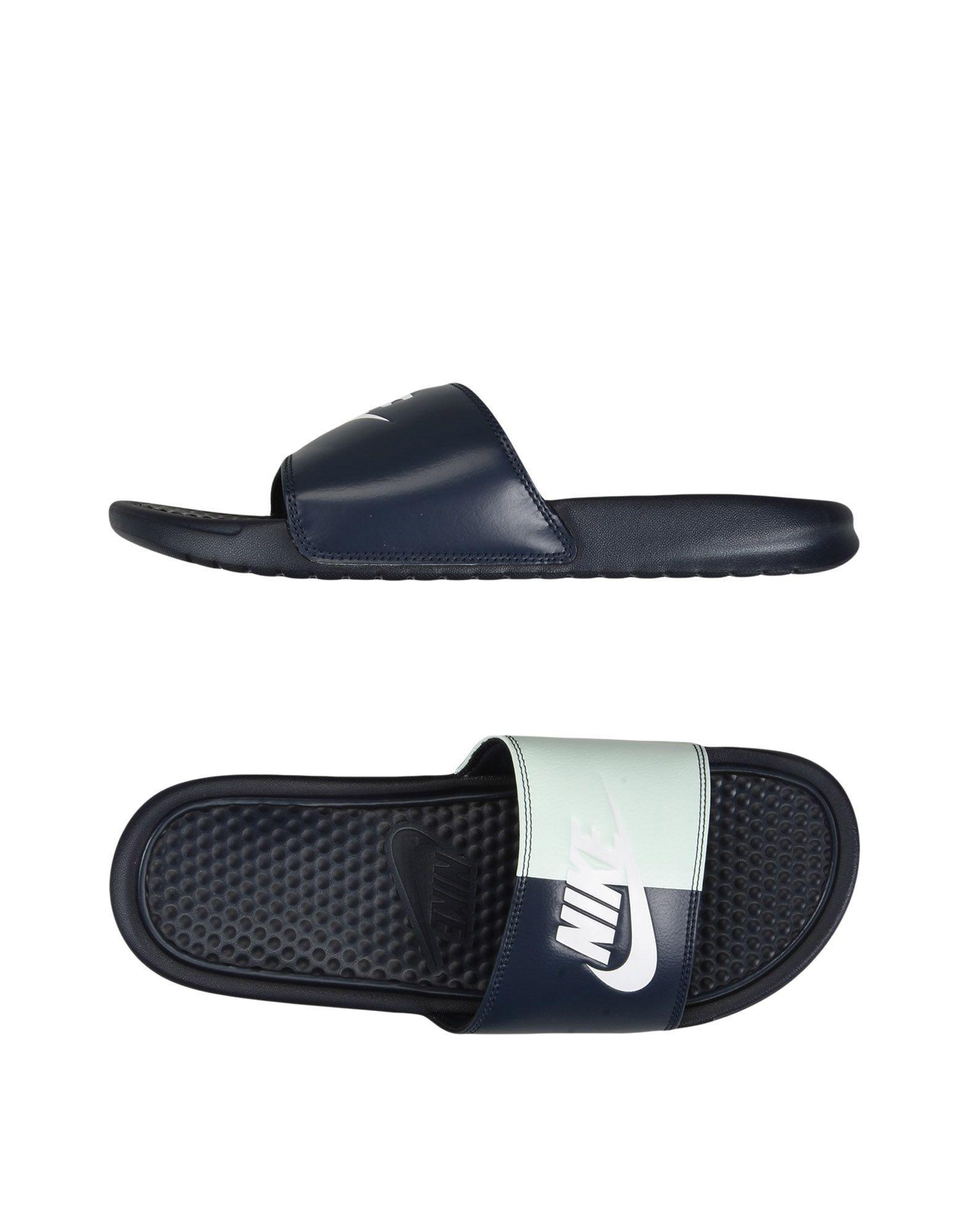 2b63b1240a3b Nike Sandals in Blue - Lyst