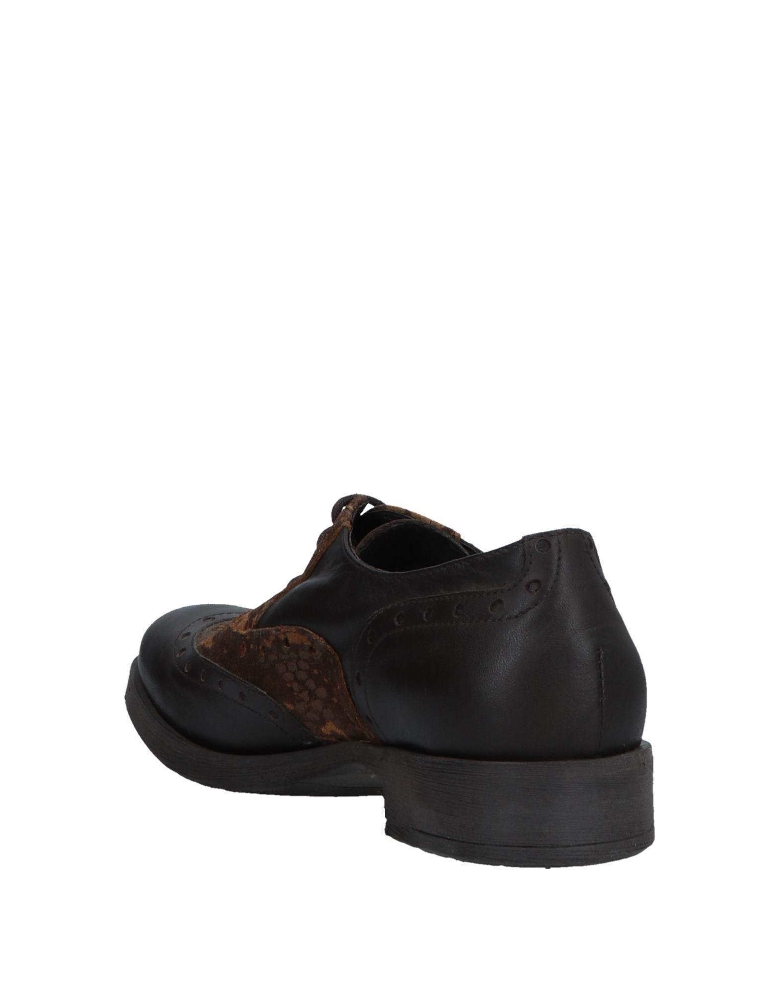 Zapatos de cordones Piampiani de Cuero de color Marrón