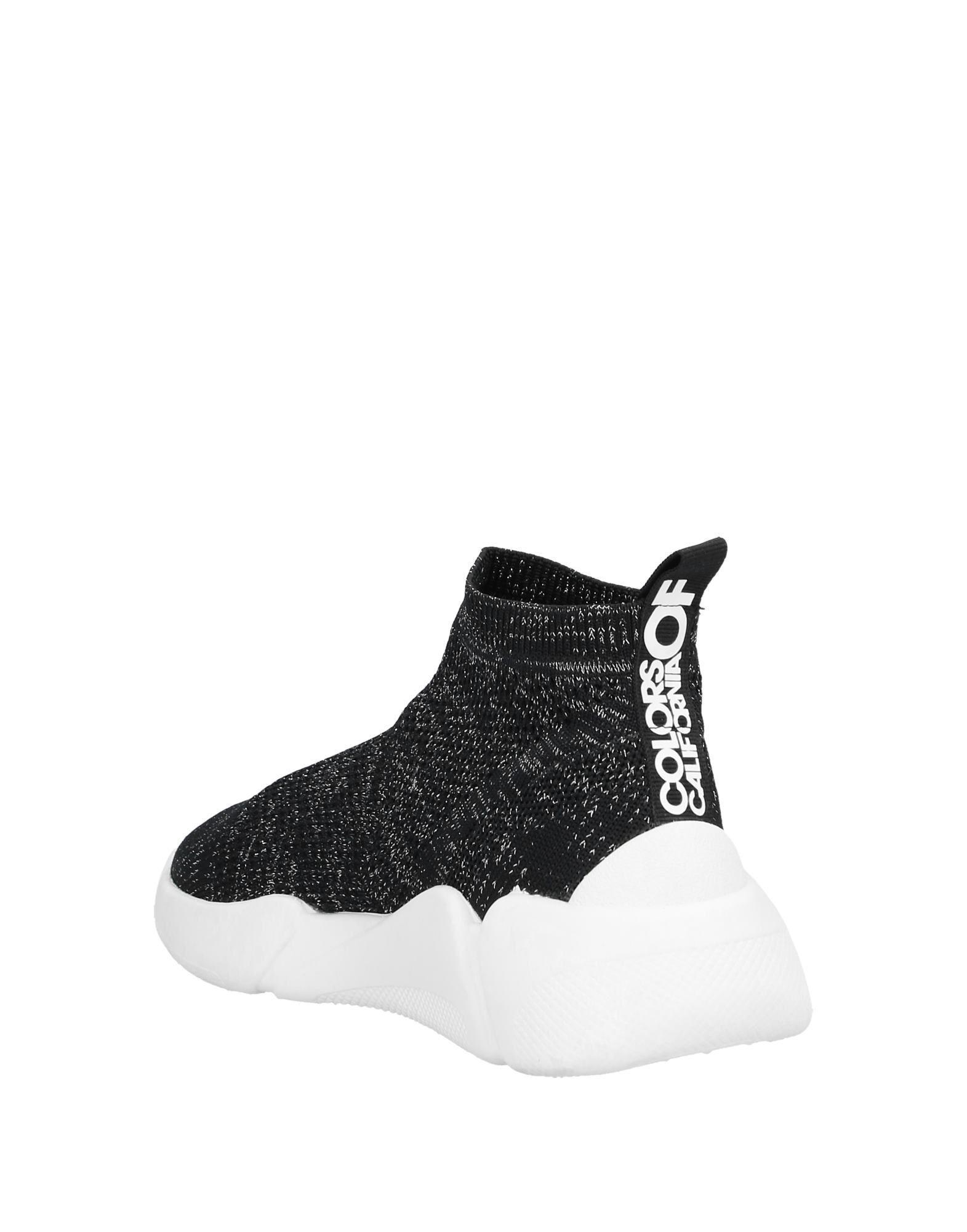Sneakers abotinadas Colors Of California de color Negro