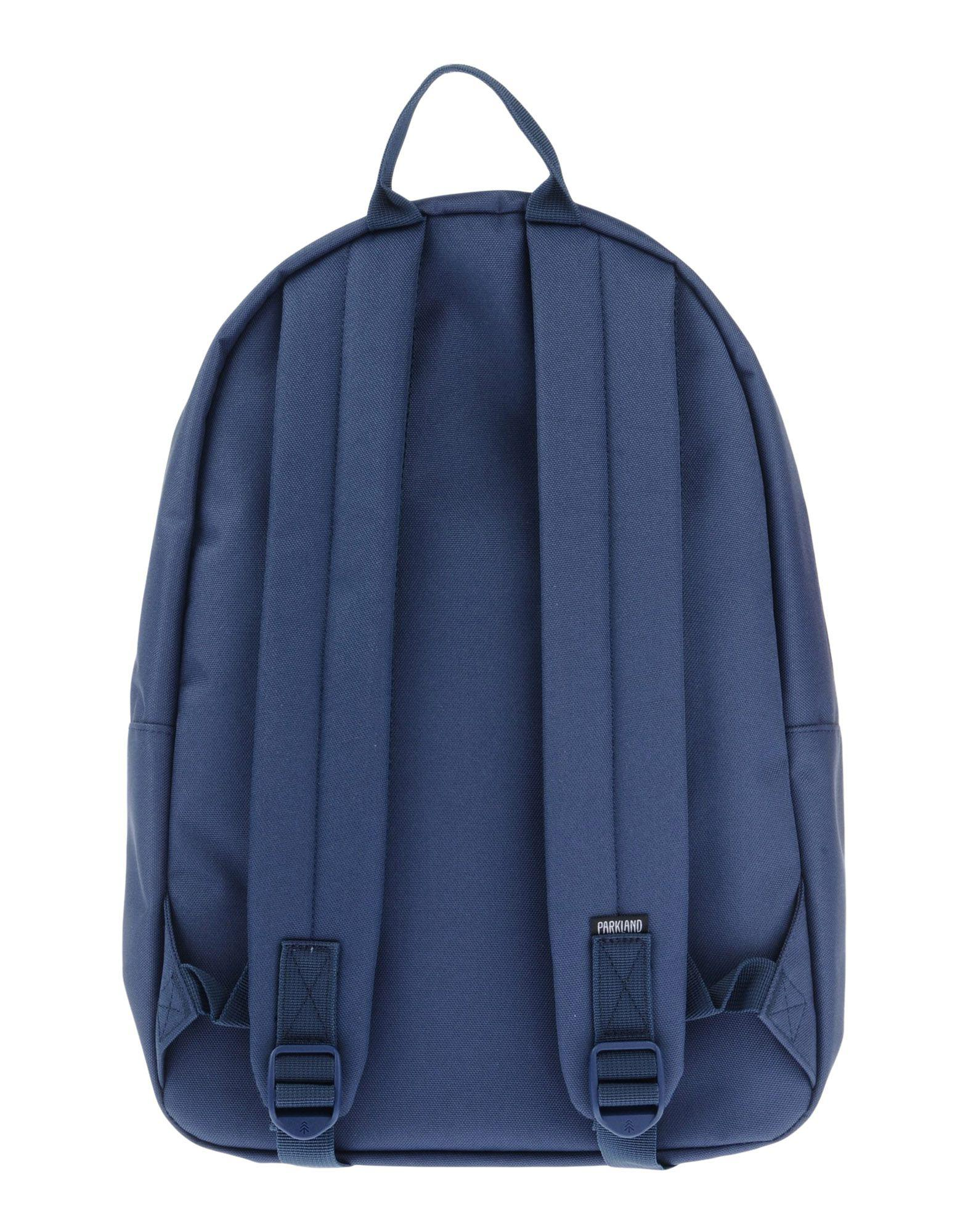 Parkland Synthetic Backpacks & Bum Bags in Slate Blue (Blue)