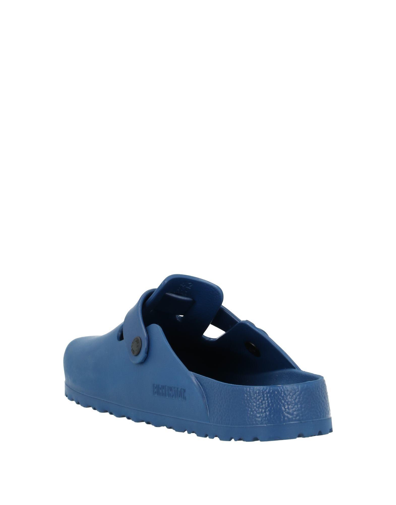 Mules & Sabots Caoutchouc Birkenstock pour homme en coloris Bleu