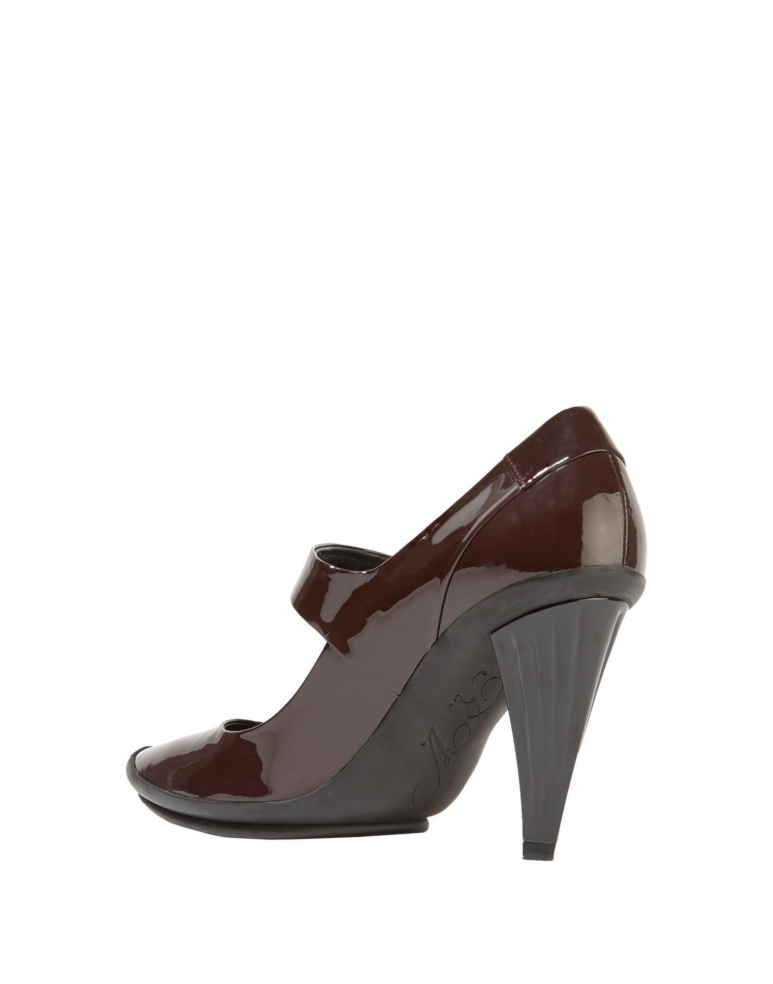 Zapatos de salón Roger Vivier de Cuero de color Marrón