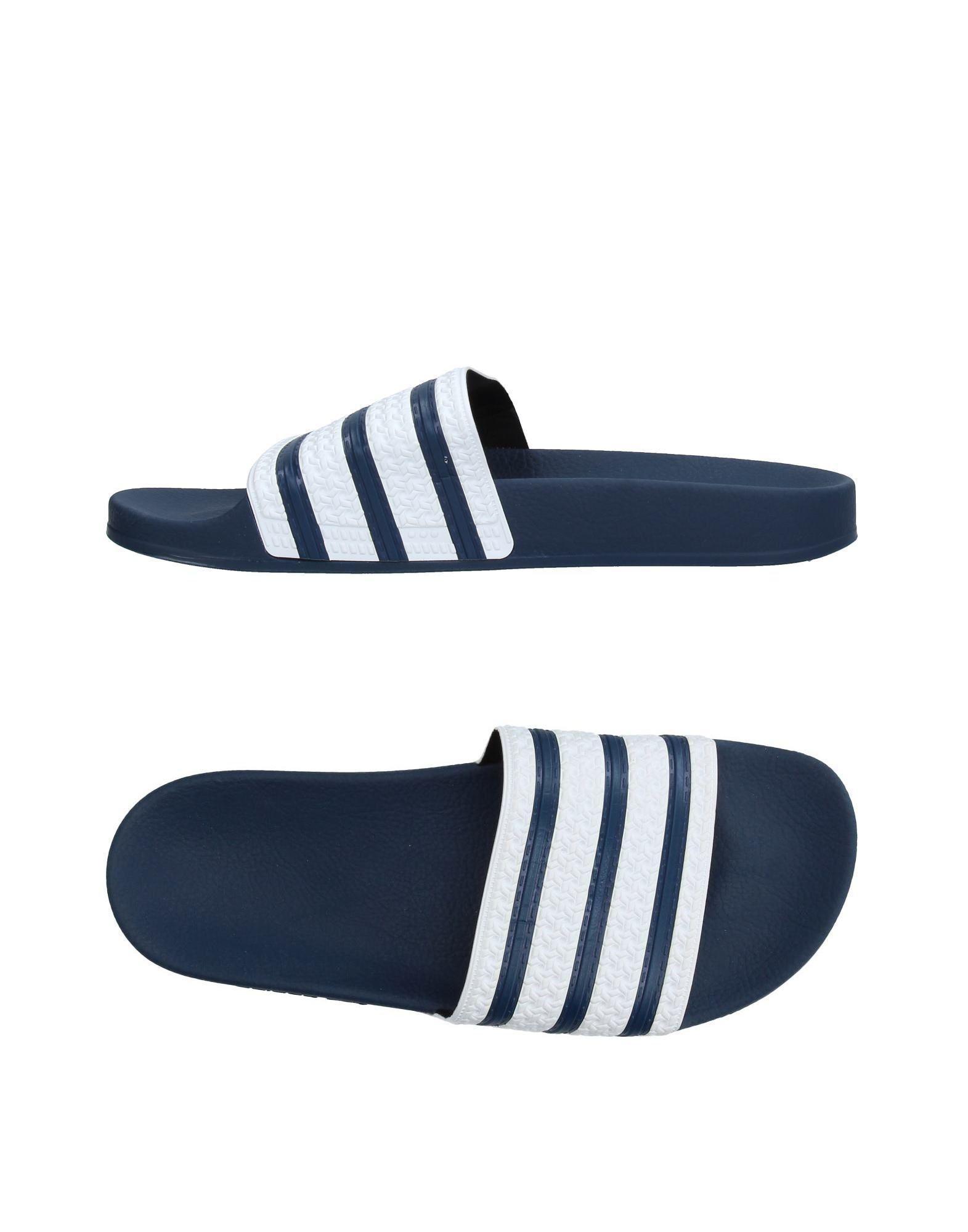 3bdab4f51040d0 Adidas Originals - Blue Sandals for Men - Lyst. View fullscreen