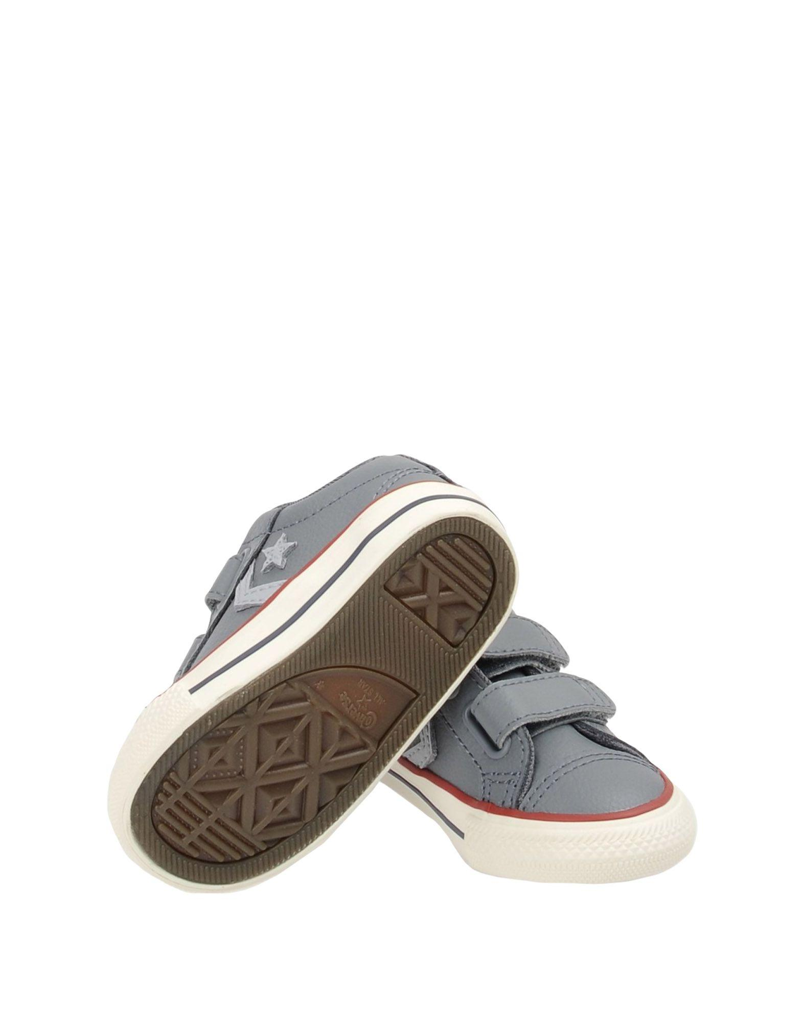 Converse CONS Leather Low-tops & Sneakers in Grey (Grey)