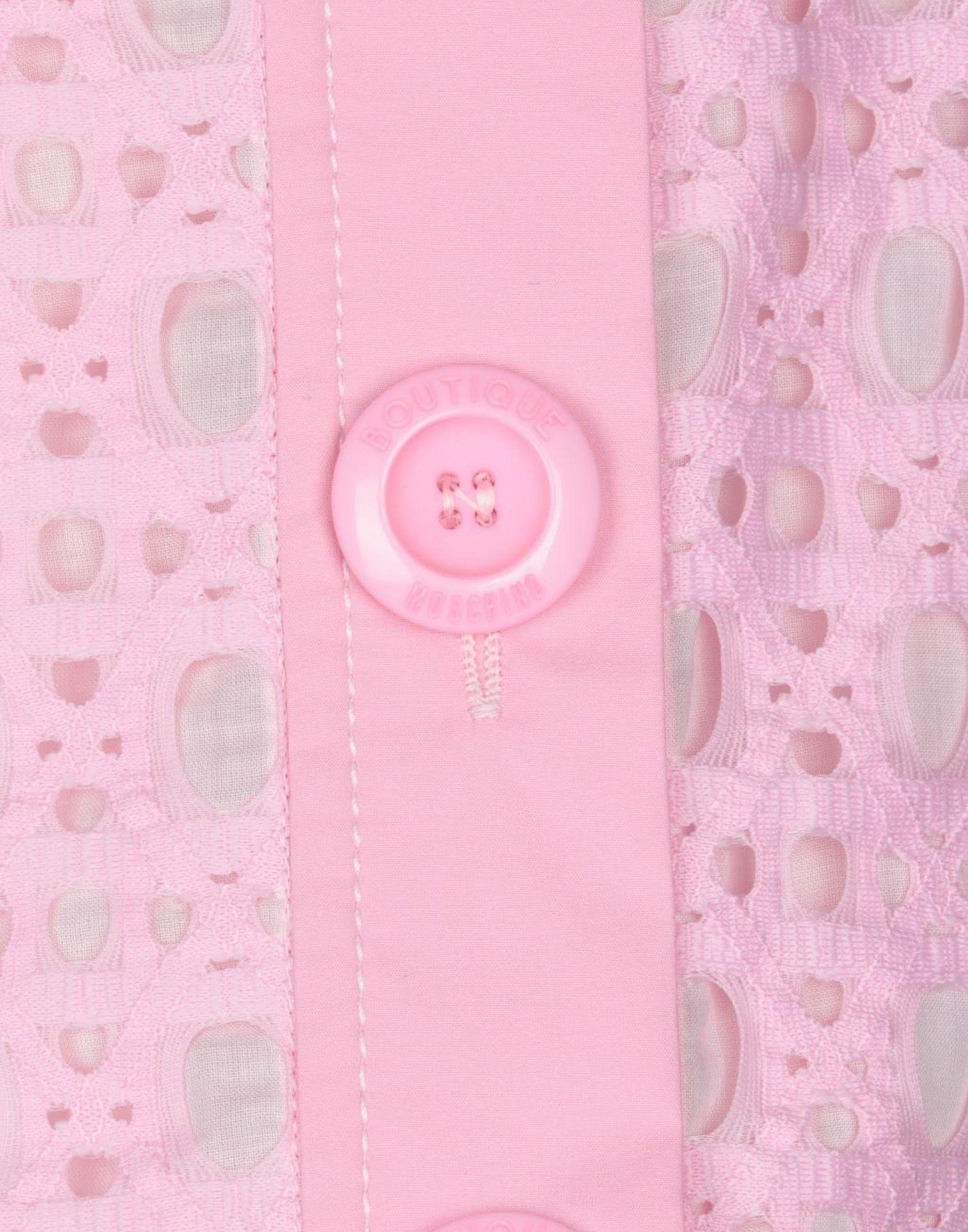 Jupe mi-longue Dentelle Boutique Moschino en coloris Rose