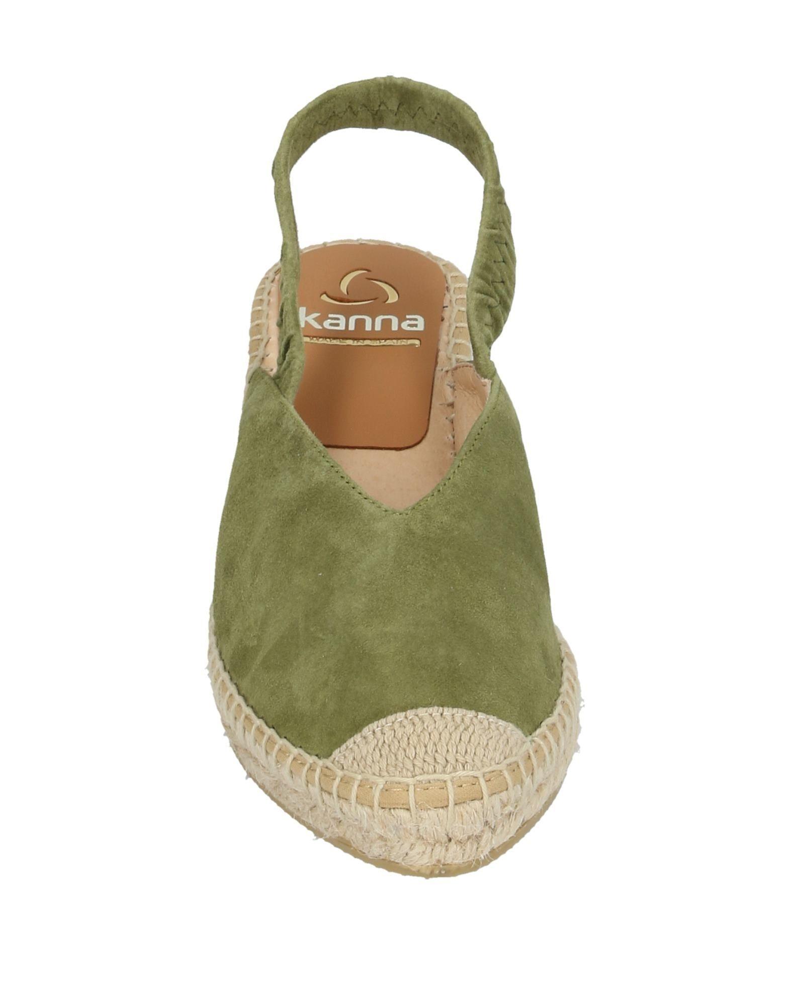 Zapatos de salón Kanna de color Verde