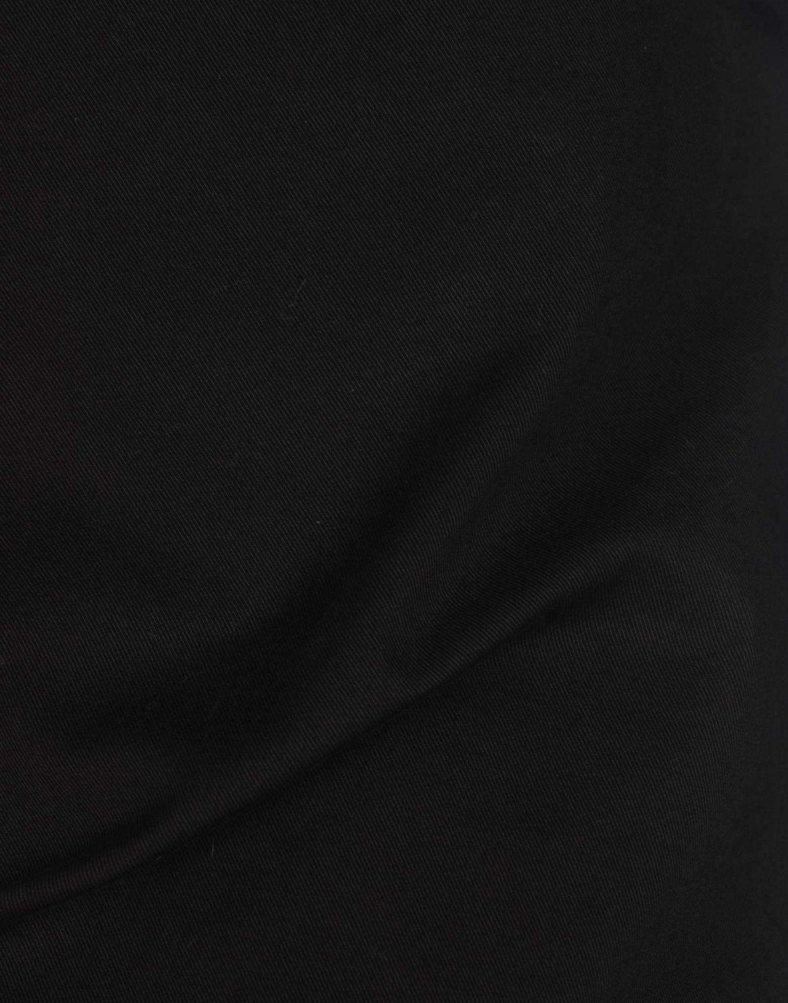 2W2M Leder Hose in Schwarz