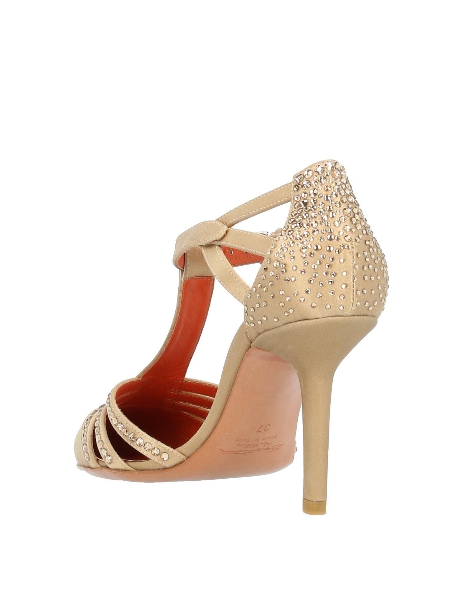 Zapatos de salón Santoni de Raso de color Neutro