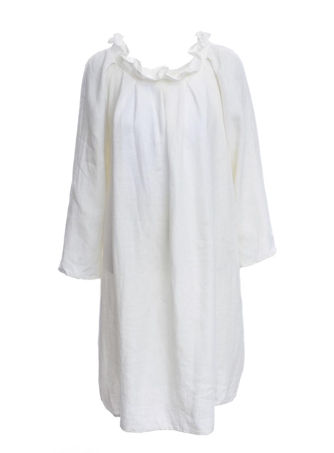 NWT ATHLETA $128 Reversible Santorini Dress Silver Bells//Grey sz M