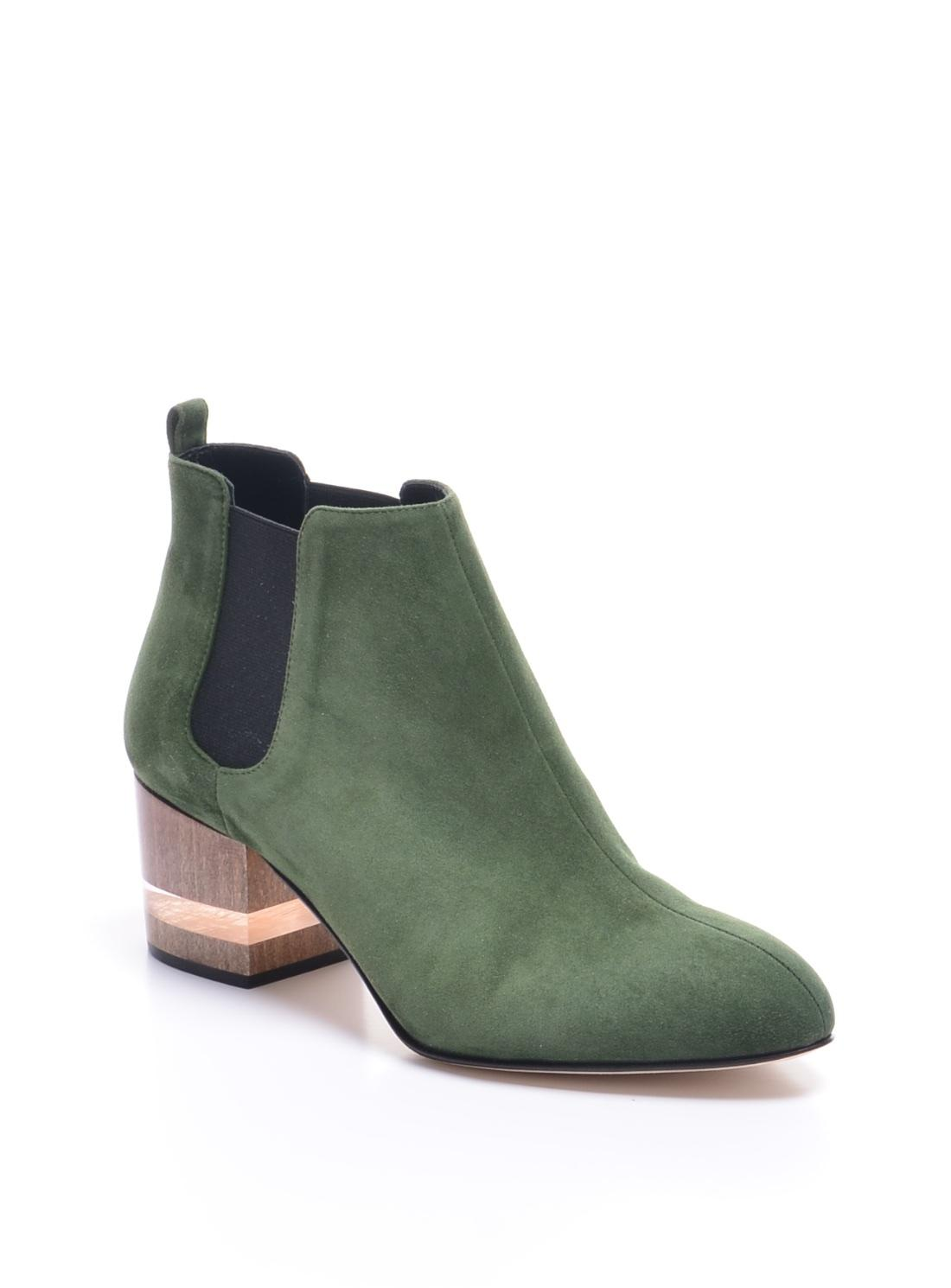 492c0c4c71a5f Dear Frances Float Boots In Forest Back In Stock in Green - Save 5% - Lyst