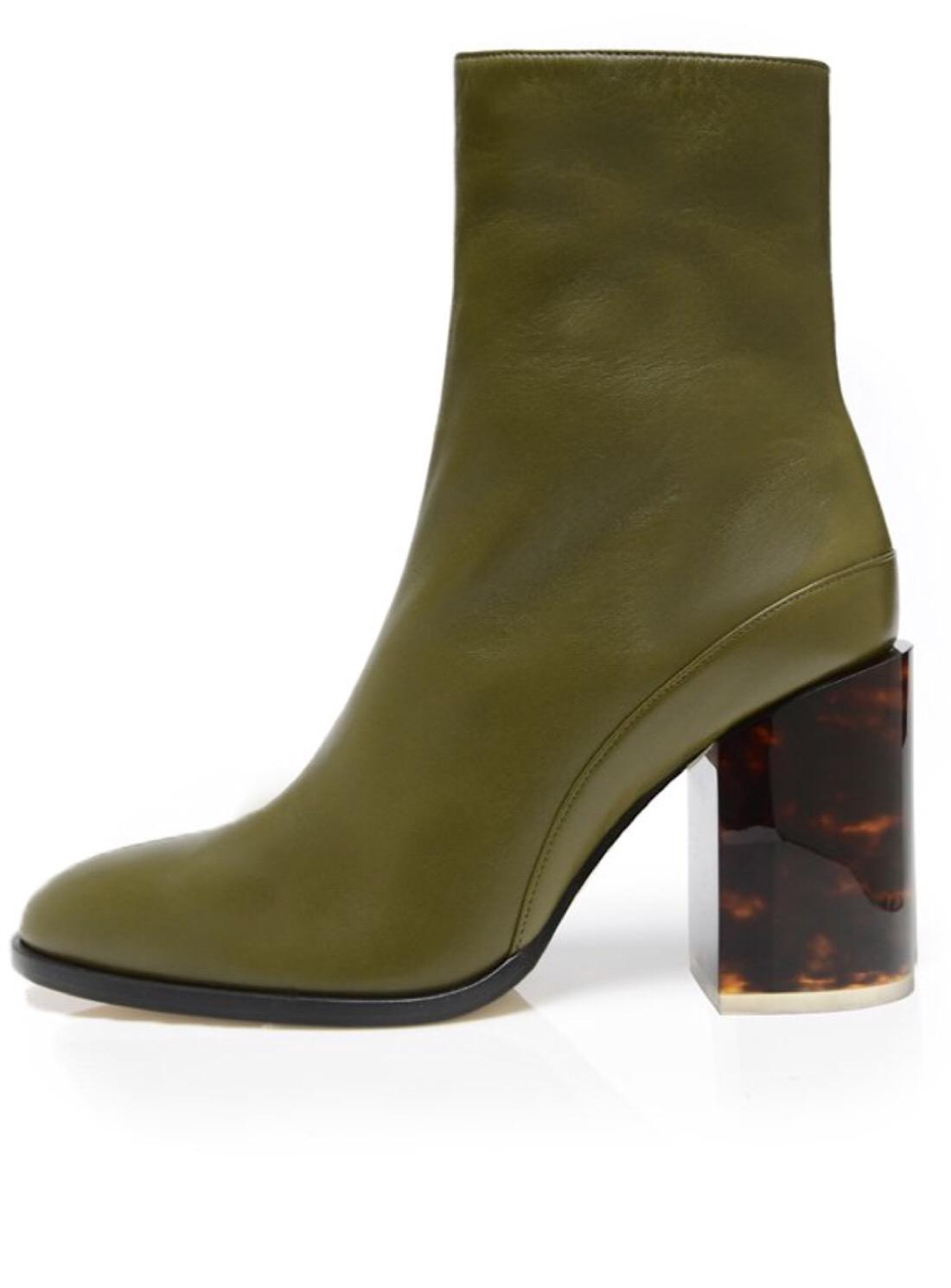 6c9ff53fa4544 Dear Frances Spirit Boot in Green - Save 4% - Lyst
