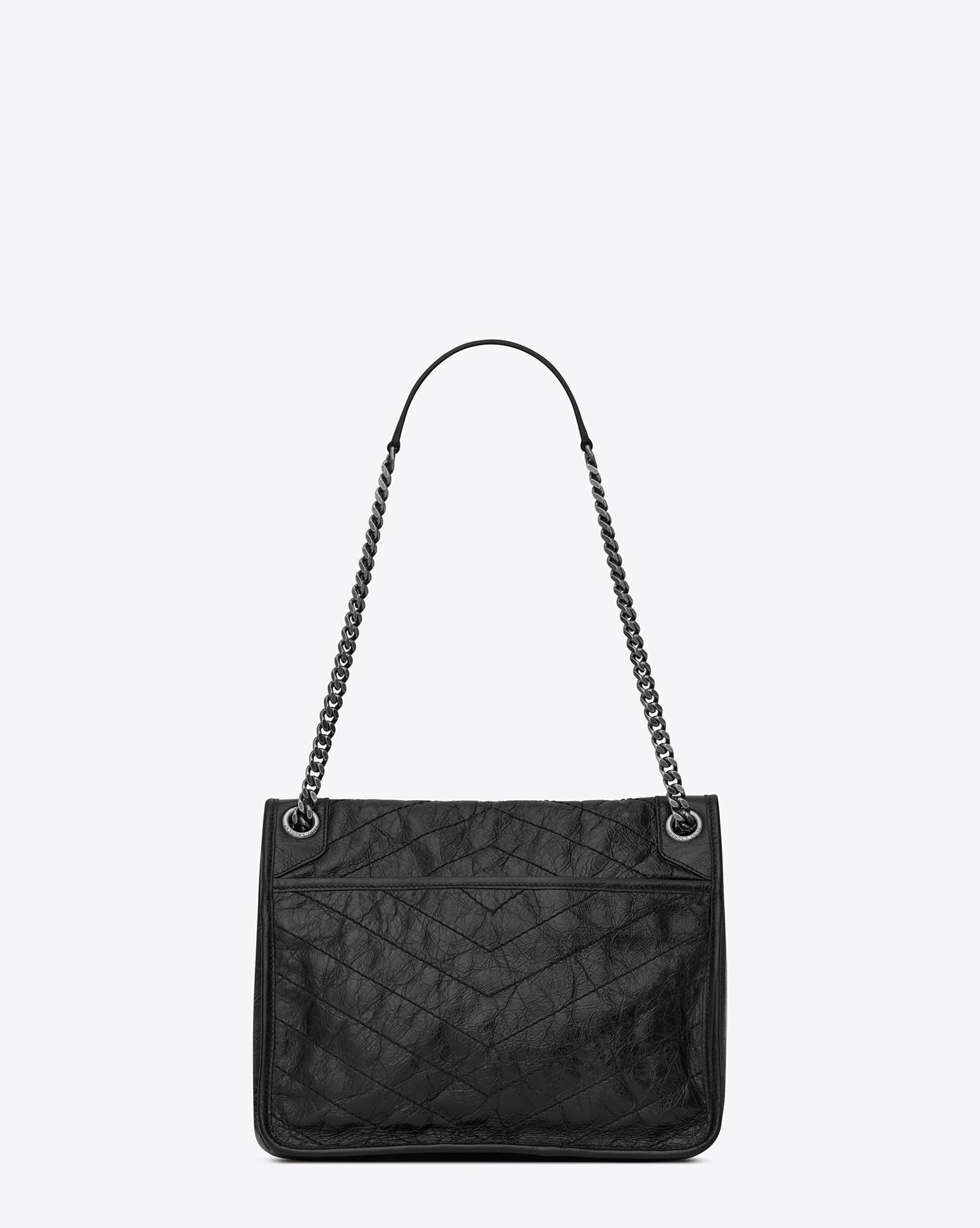 bffa7b0117 Saint Laurent Niki Bags in Black - Lyst