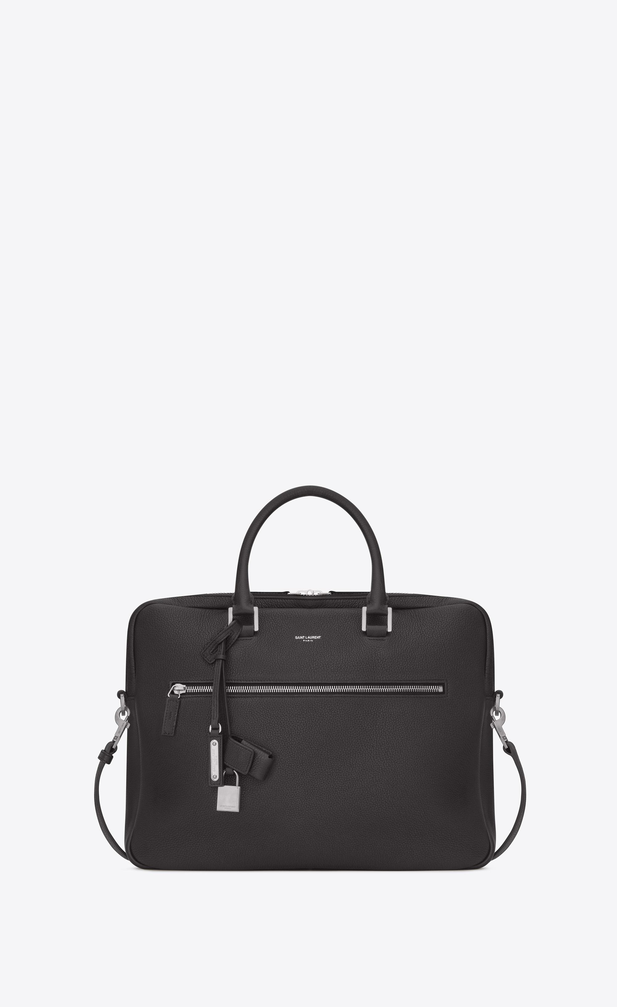 c6aa8081b4b Saint Laurent - Multicolor Sac De Jour Briefcase In Grained Leather for Men  - Lyst. View fullscreen