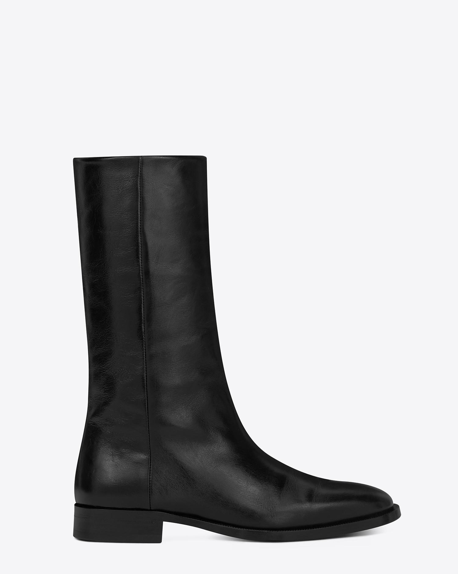 2995198985 Women's Matt 25 Ankle Boot In Black Moroder Leather