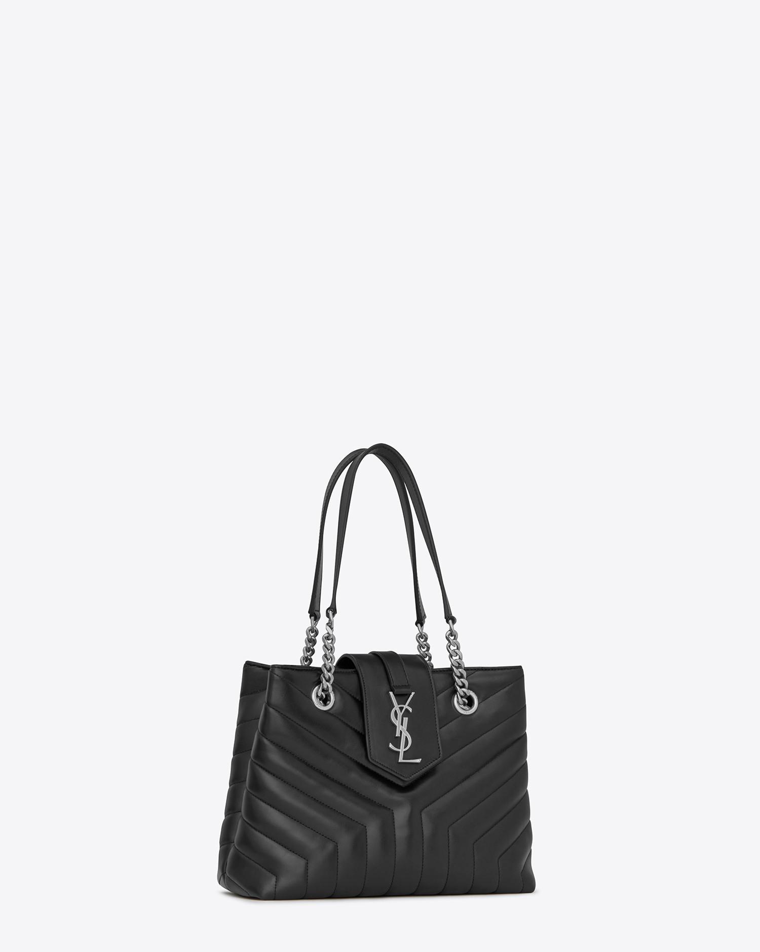 d3cb3bcc8 Lyst - Saint Laurent Monogramme Loulou in Black