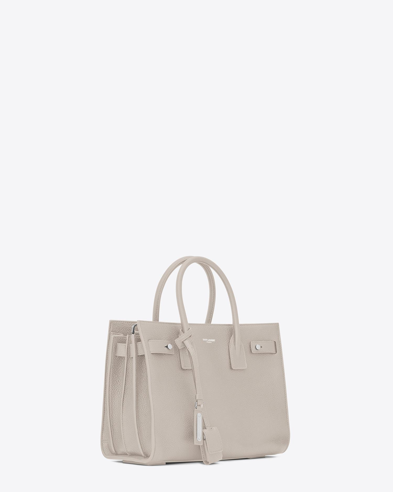 63208636ad Women's White Baby Sac De Jour Souple In Ivory Grained Leather