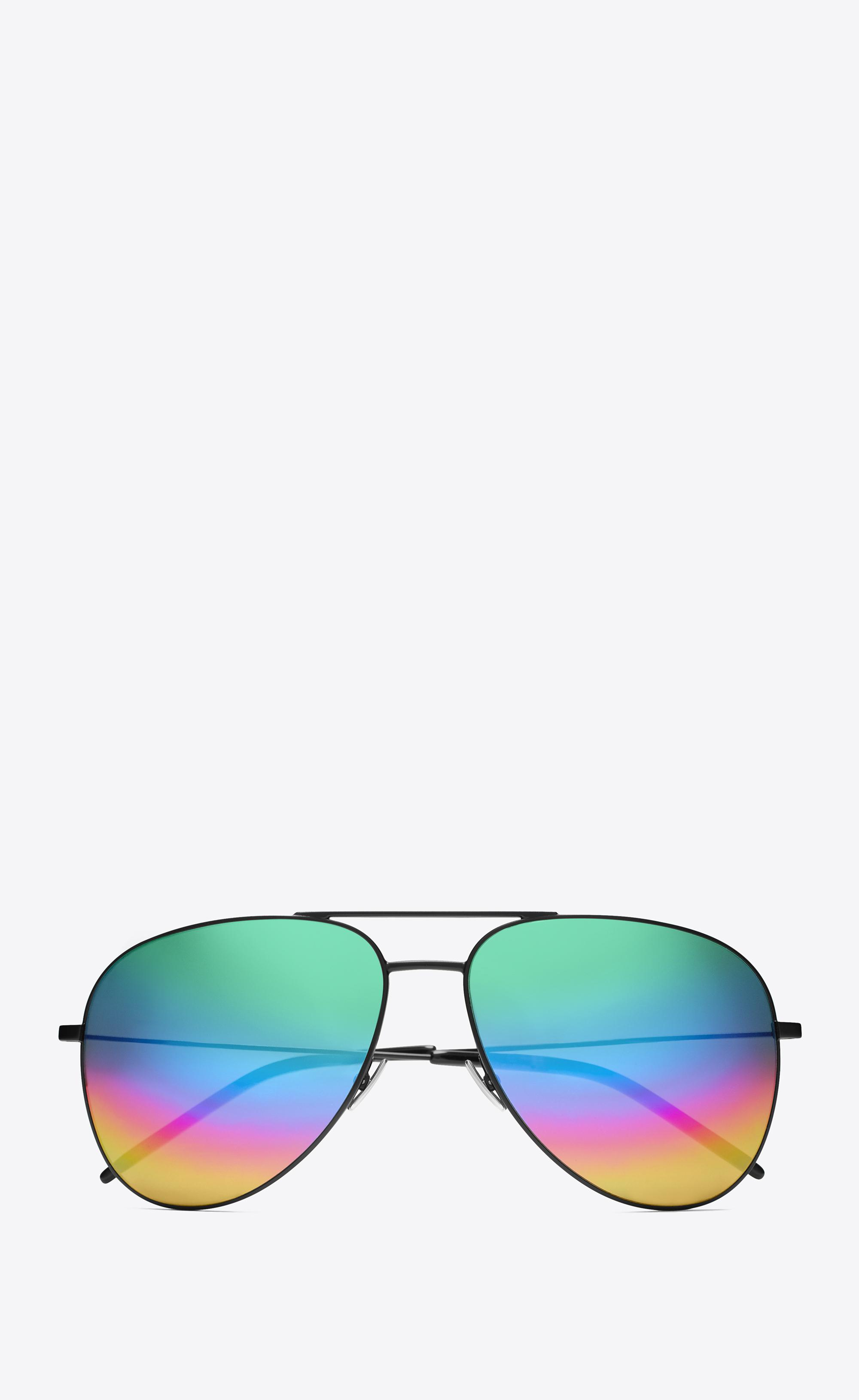 rainbow Classic 11 sunglasses - Metallic Saint Laurent Eyewear S264r0DF