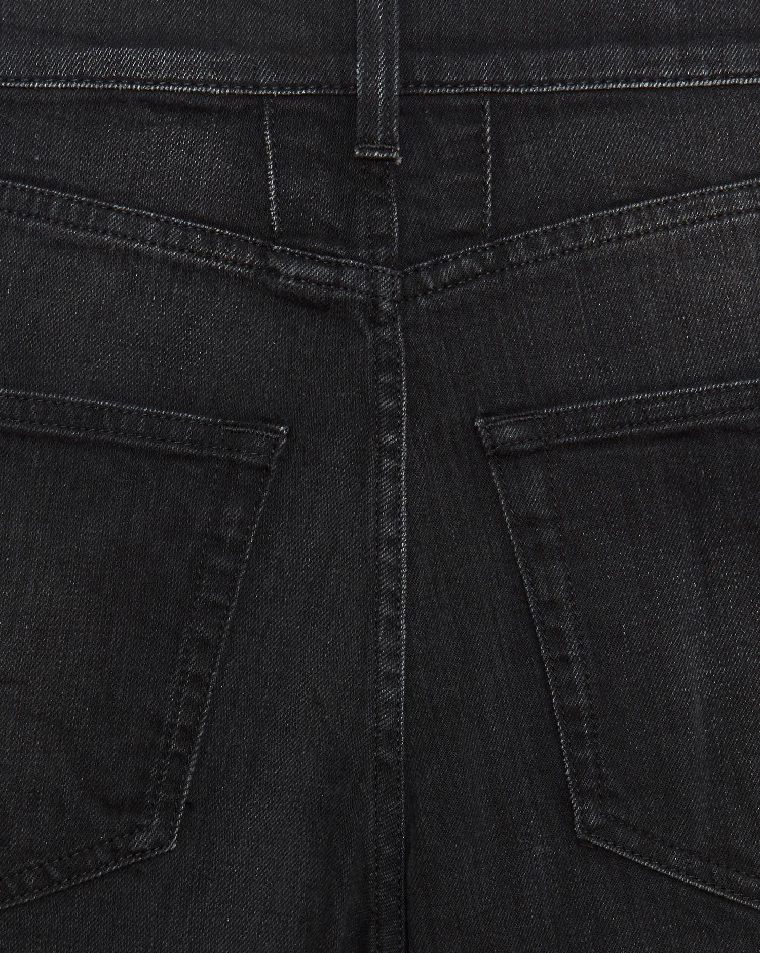83a34dcd1a Saint Laurent Original Low Waisted Raw Edge Skinny Jean In Lightly Used  Black Stretch Denim for men