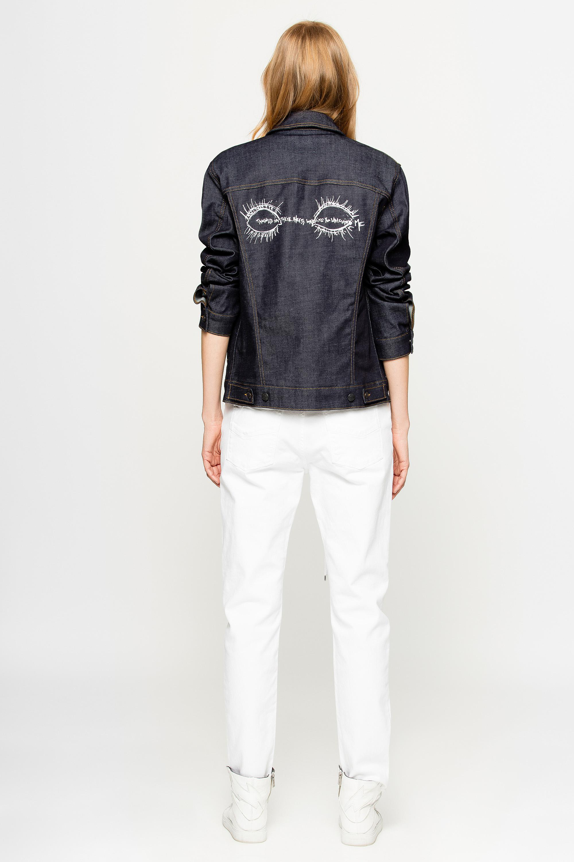 Zadig & Voltaire Denim Zadig&voltaire X Jagger Snow Jacket for Men