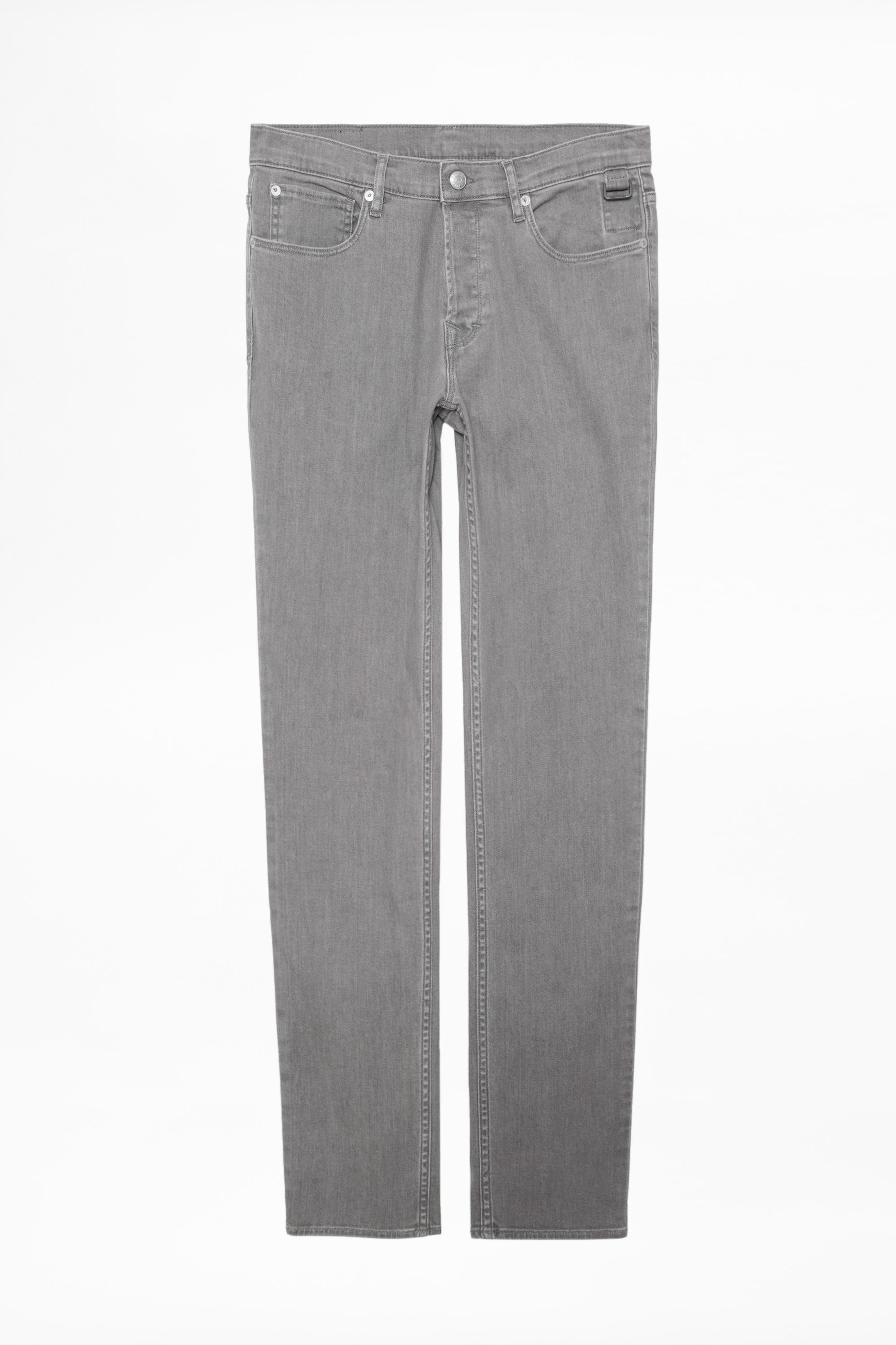 Zadig & Voltaire Denim David Grey Jeans in Grey for Men