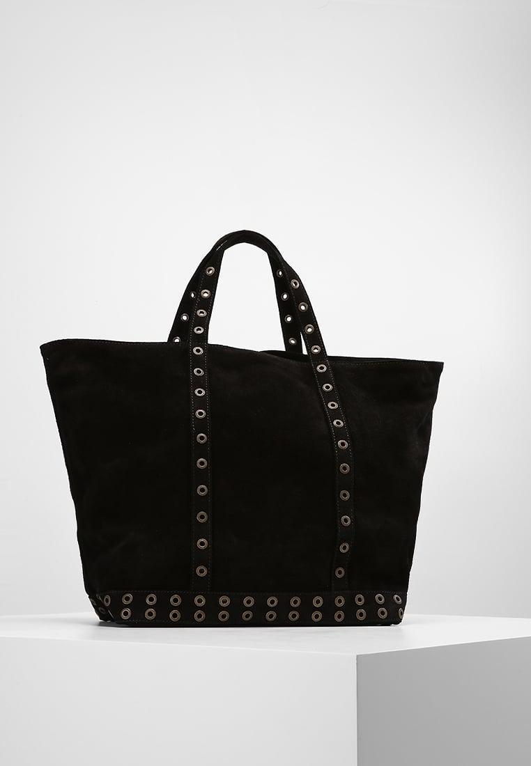 vanessa bruno cabas moyen tote bag in black lyst. Black Bedroom Furniture Sets. Home Design Ideas
